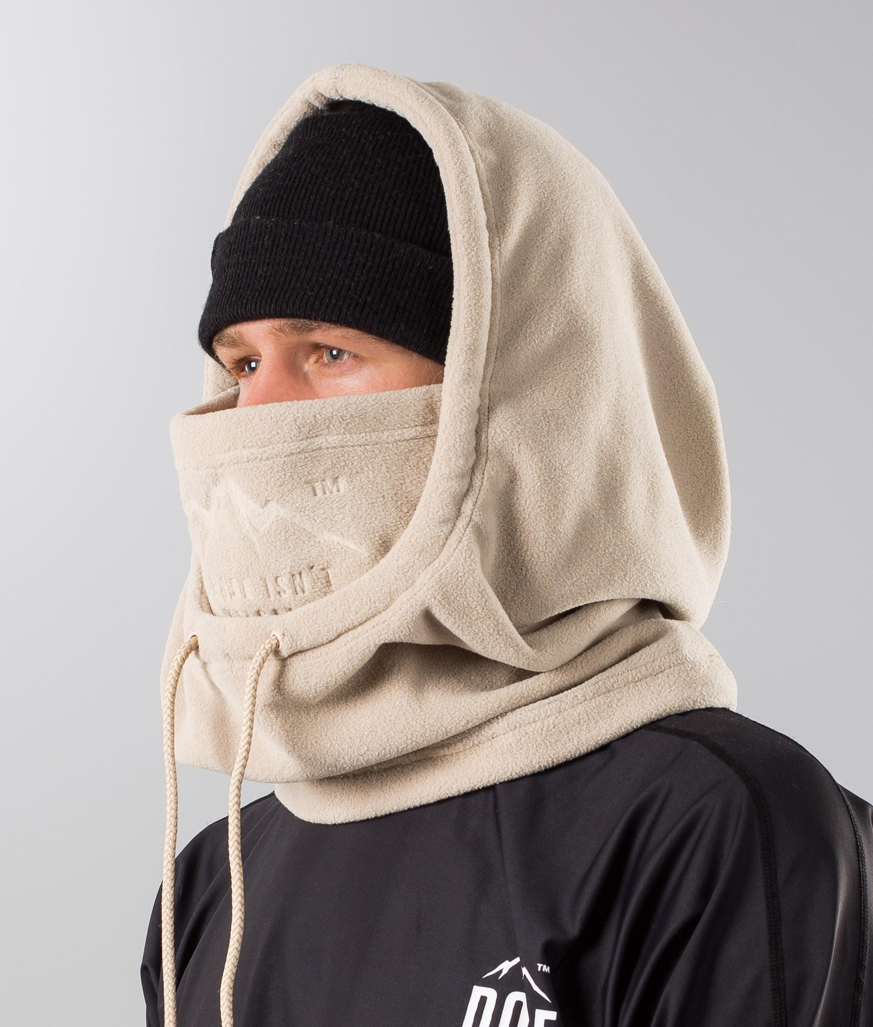 Dope Cozy Hood Skimaske Sand Ridestore De