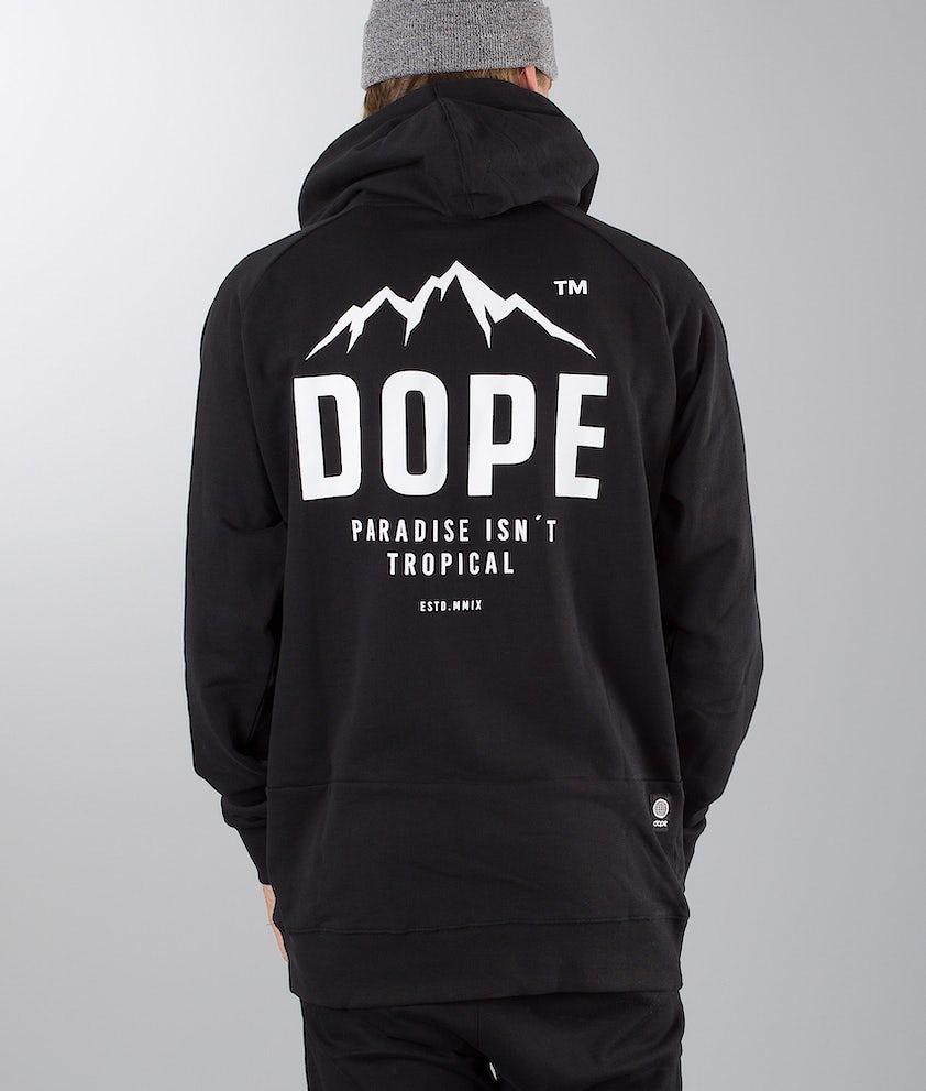 Dope Paradise II Hood Black