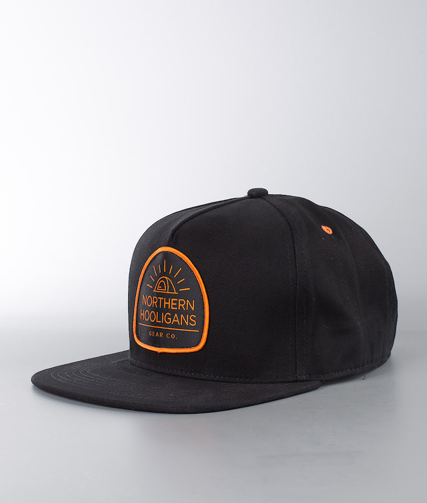 Northern Hooligans Tent Snapback Caps Black