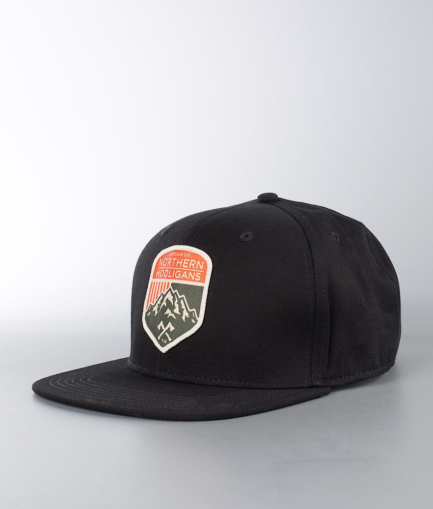 Northern Hooligans Outdoor Div. Snapback Caps Black