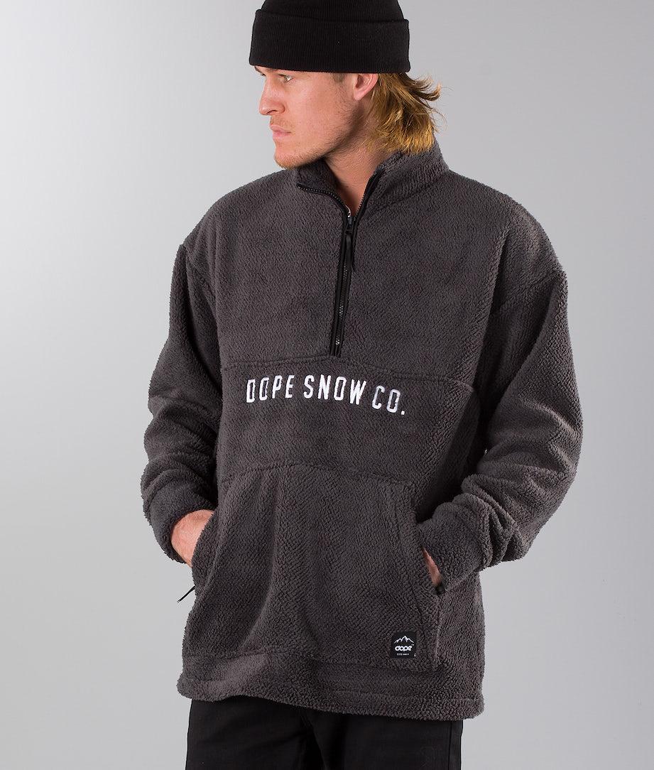 Dope Pile Snowboardsweatshirt Darkgrey