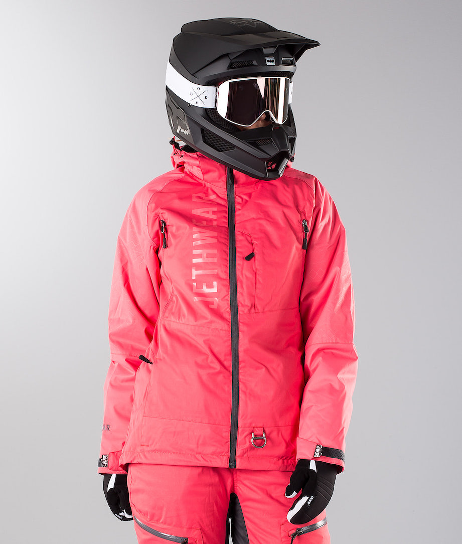 Jethwear Jorm Jacket  Snowmobile Jacket Teaberry