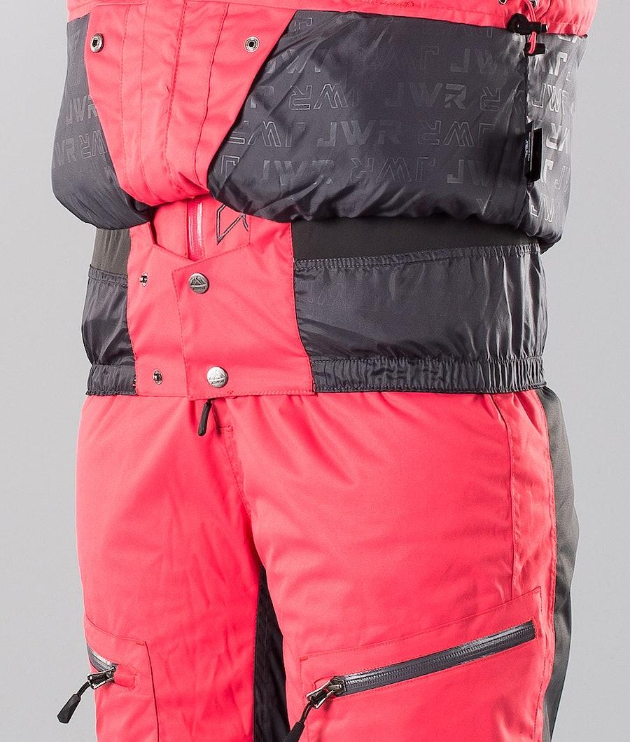 Jethwear Jorm Jacket Women's Snowmobile Jacket Teaberry
