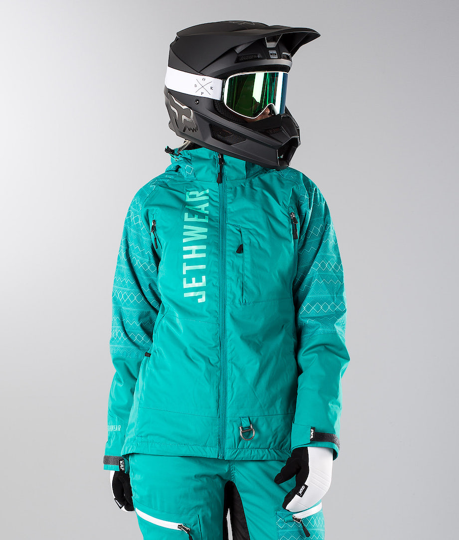 Jethwear Jorm Jacket  Snowmobile Jacket Teal