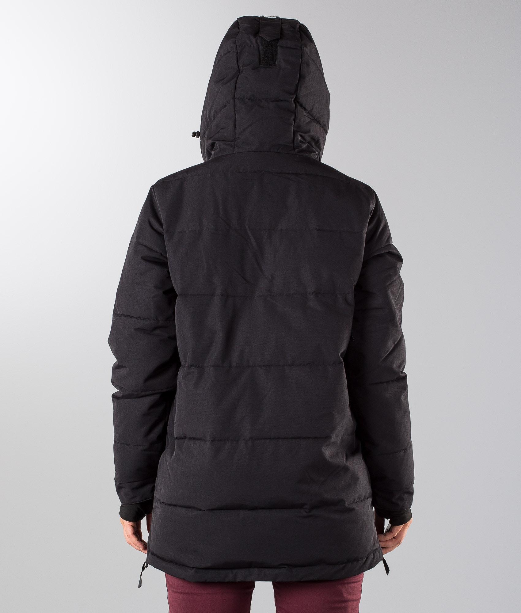 f1ac7a5e2f9f Dope Puffer W Snowboard Jacket Black - Ridestore.com