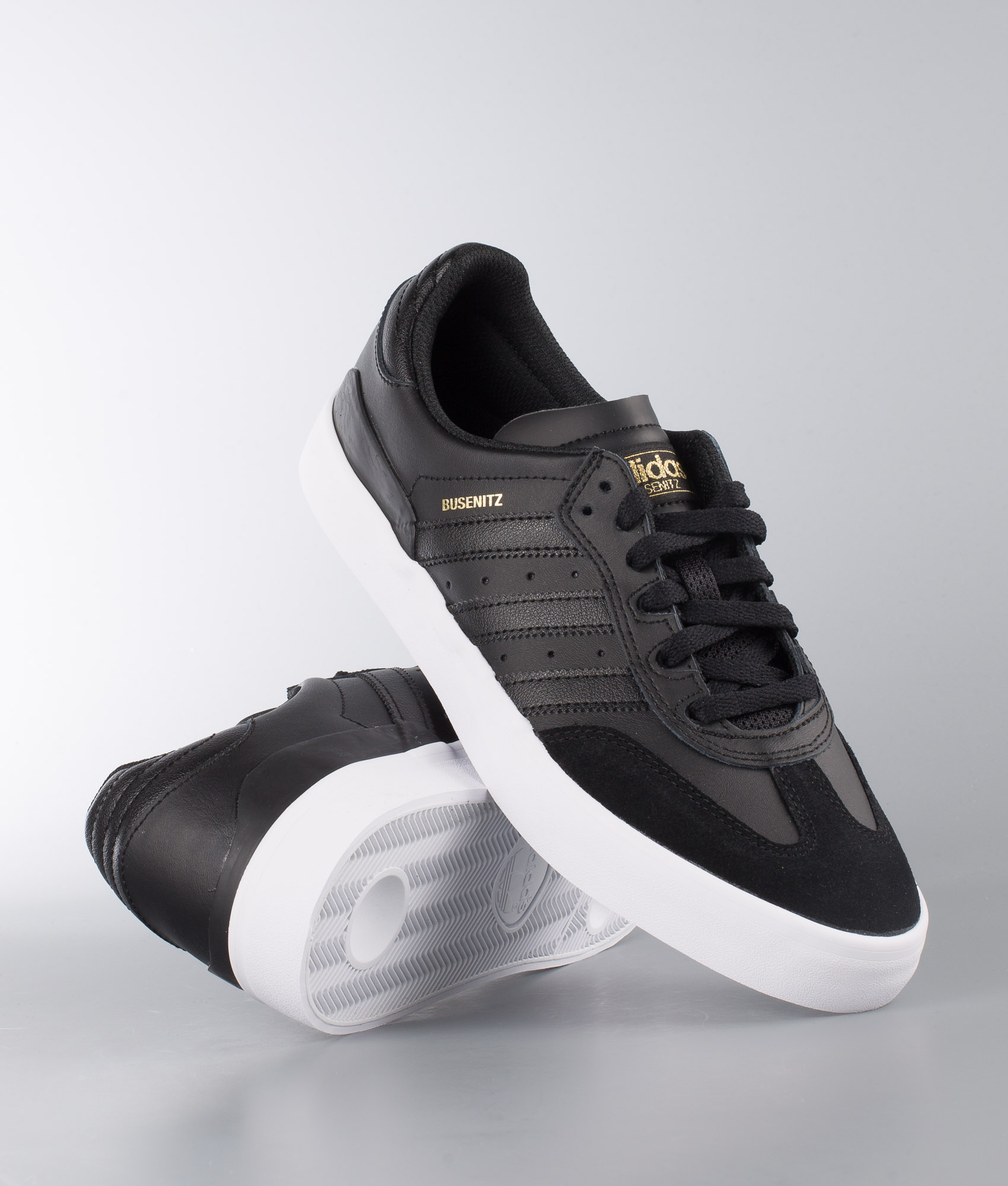 adidas busenitz vulc rx shoes - core black / core black