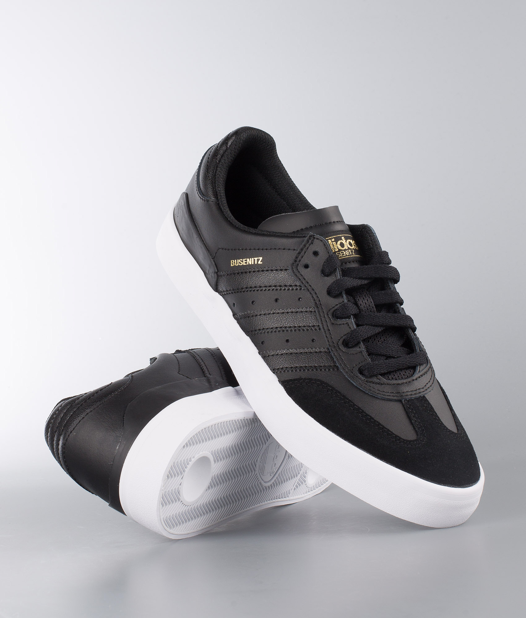new concept 0474f 3fbf8 Adidas Skateboarding Busenitz Vulc Rx Shoes Black. Core ...