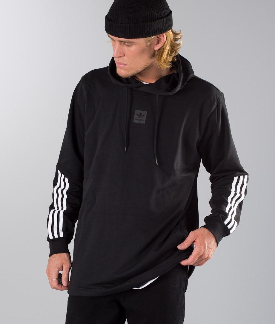 Adidas Skateboarding Cornered Hoodie Black/White/Blkref