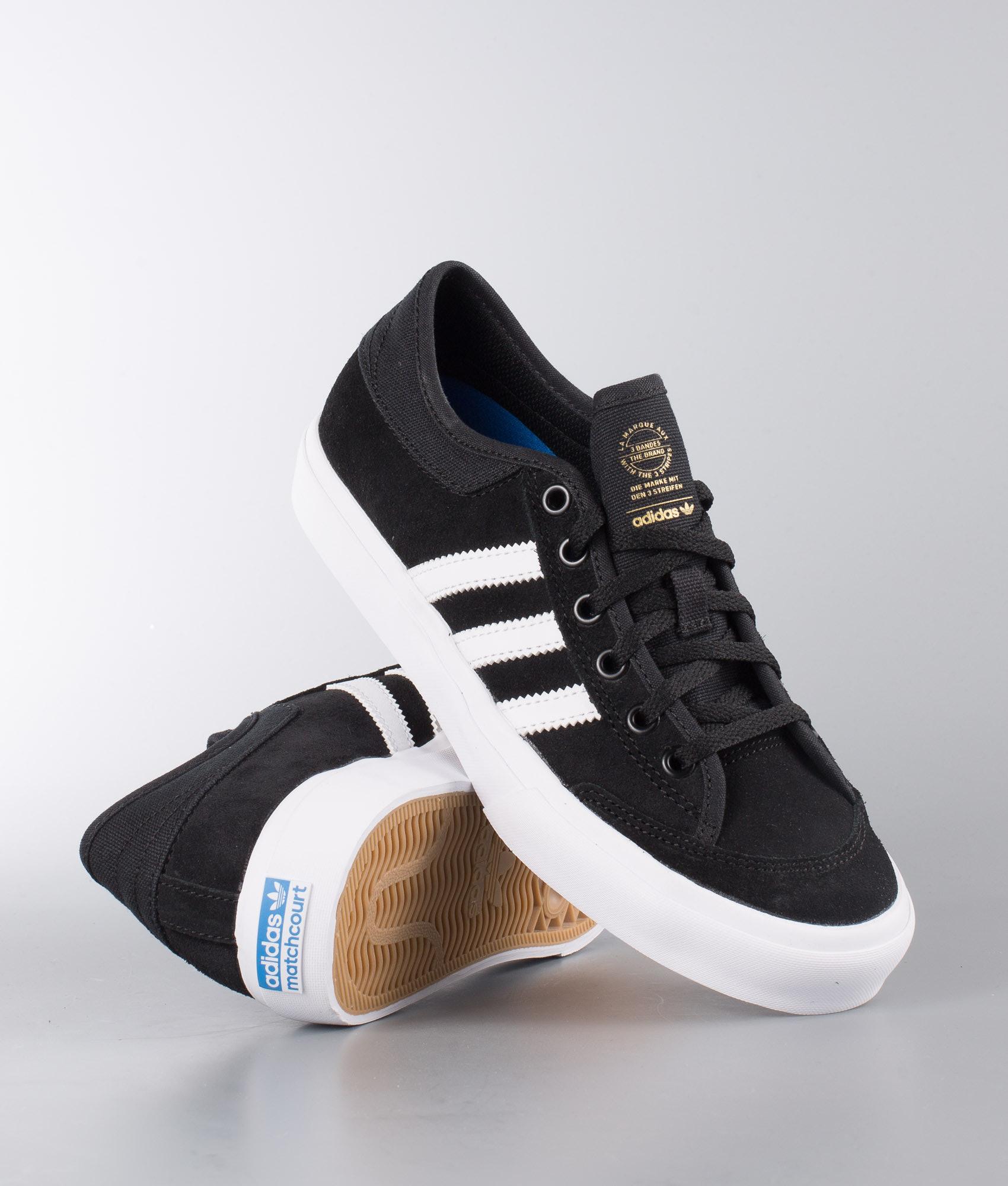 e9987fa5d94 Adidas Skateboarding Matchcourt Shoes Core Black Ftwr White Ftwr ...