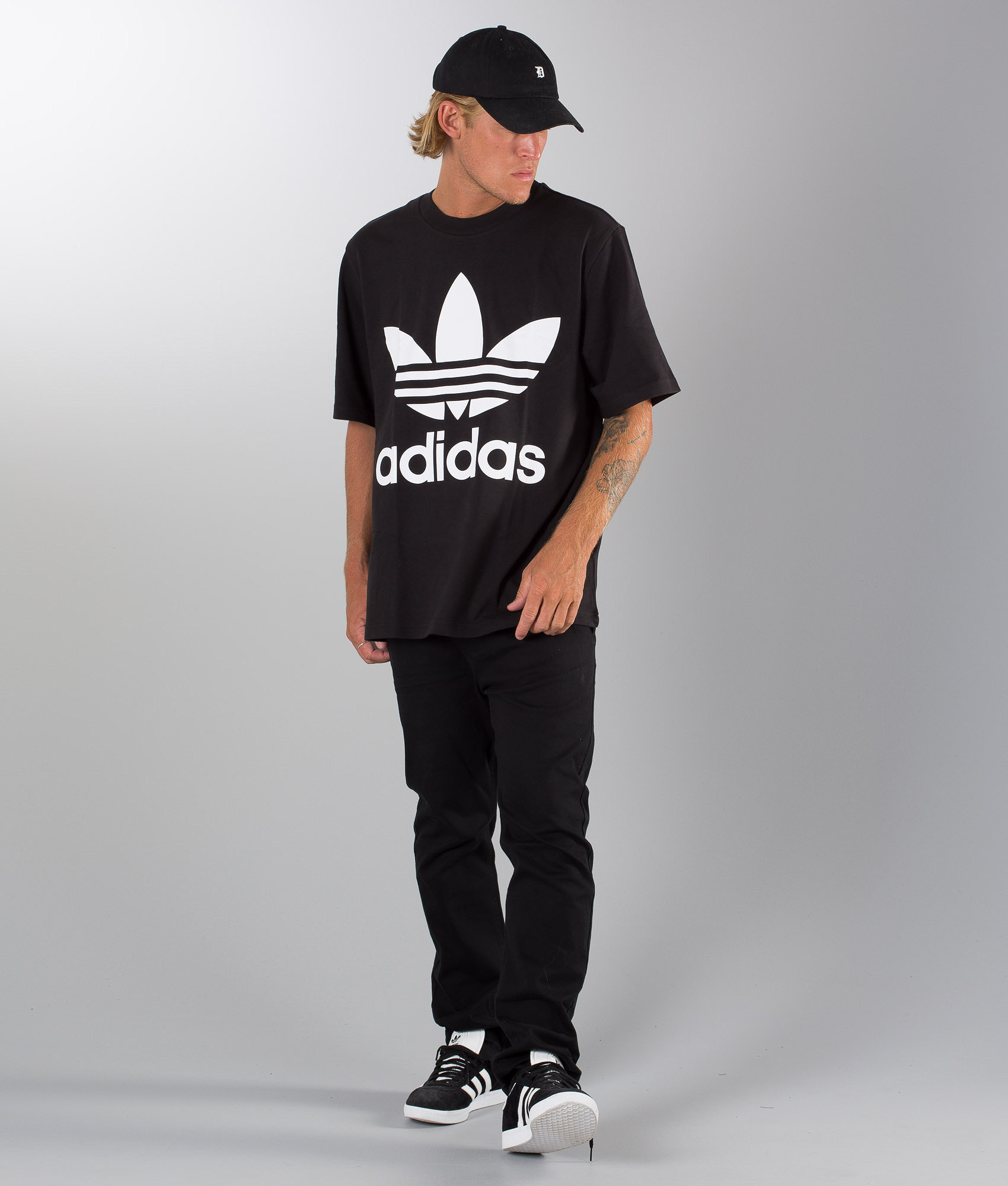 e9882fc4c65 Adidas Originals Oversized T-shirt Black - Ridestore.com