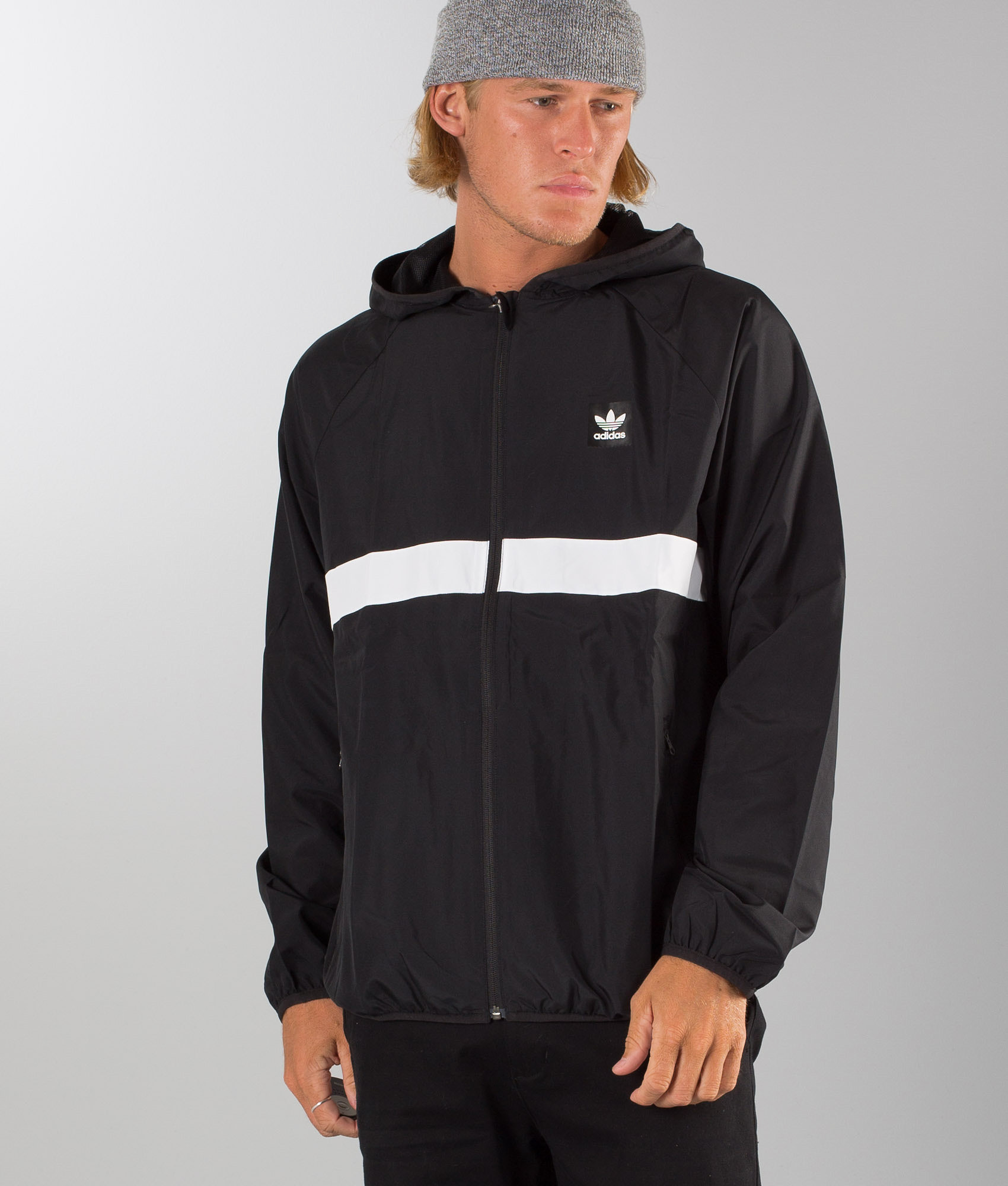 492b24f58 Adidas Skateboarding Blackbird Wind Jacket Black/White