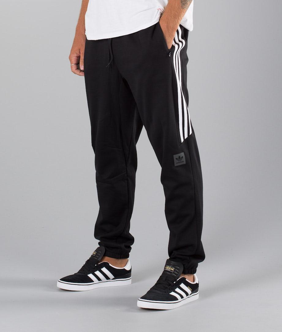 Adidas Skateboarding Tech Sweatpant Pants Black/White