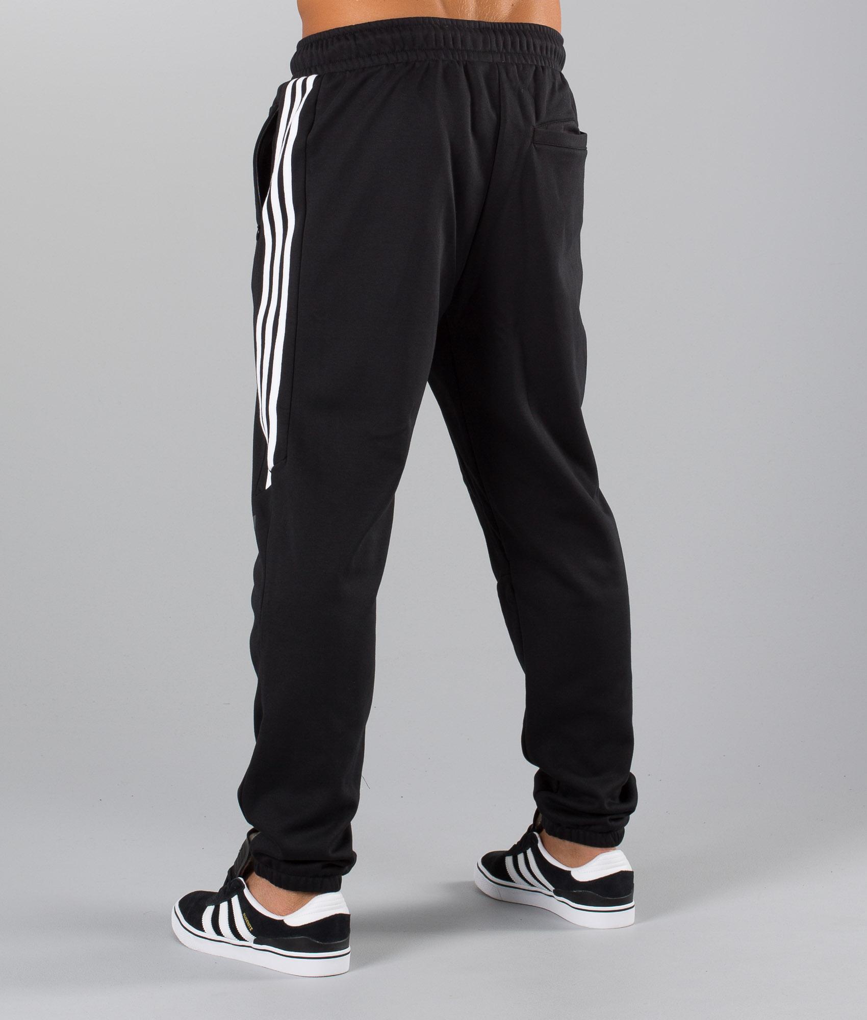 adidas Herren Hose Ess Sweat Pant Black, S: