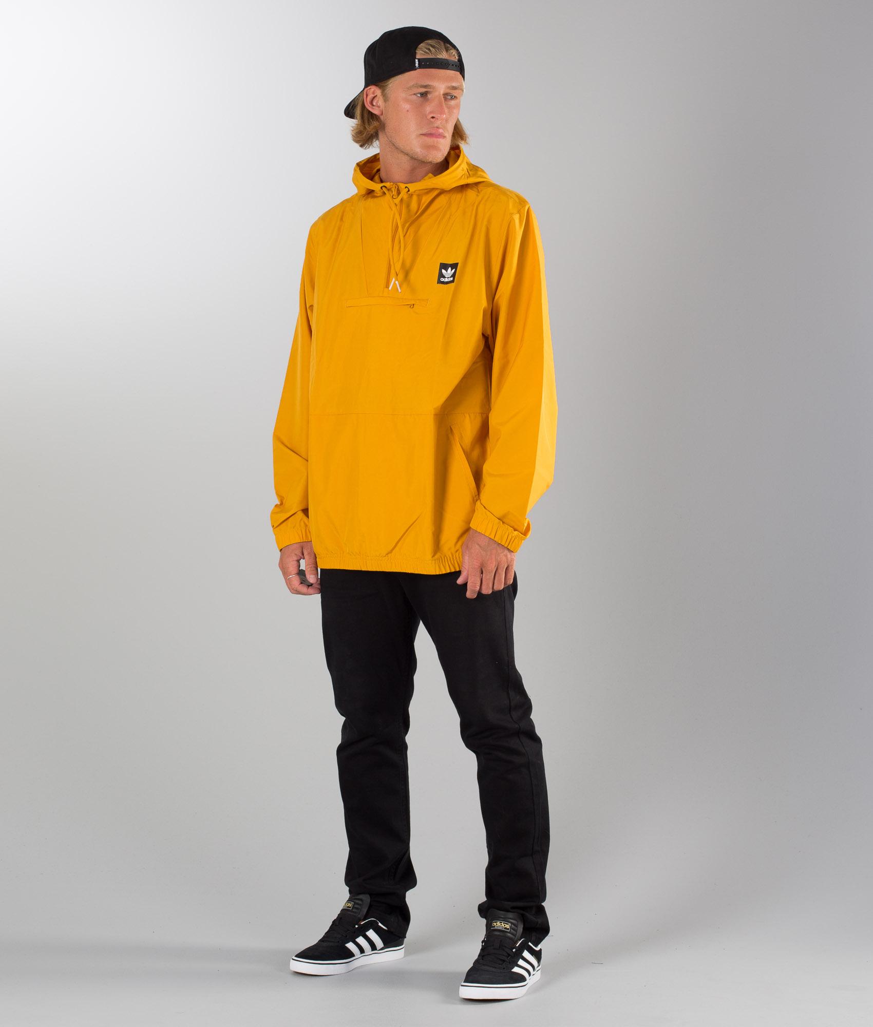 Yellow Adidas Hip Tactile Skateboarding Jacket w6aHR