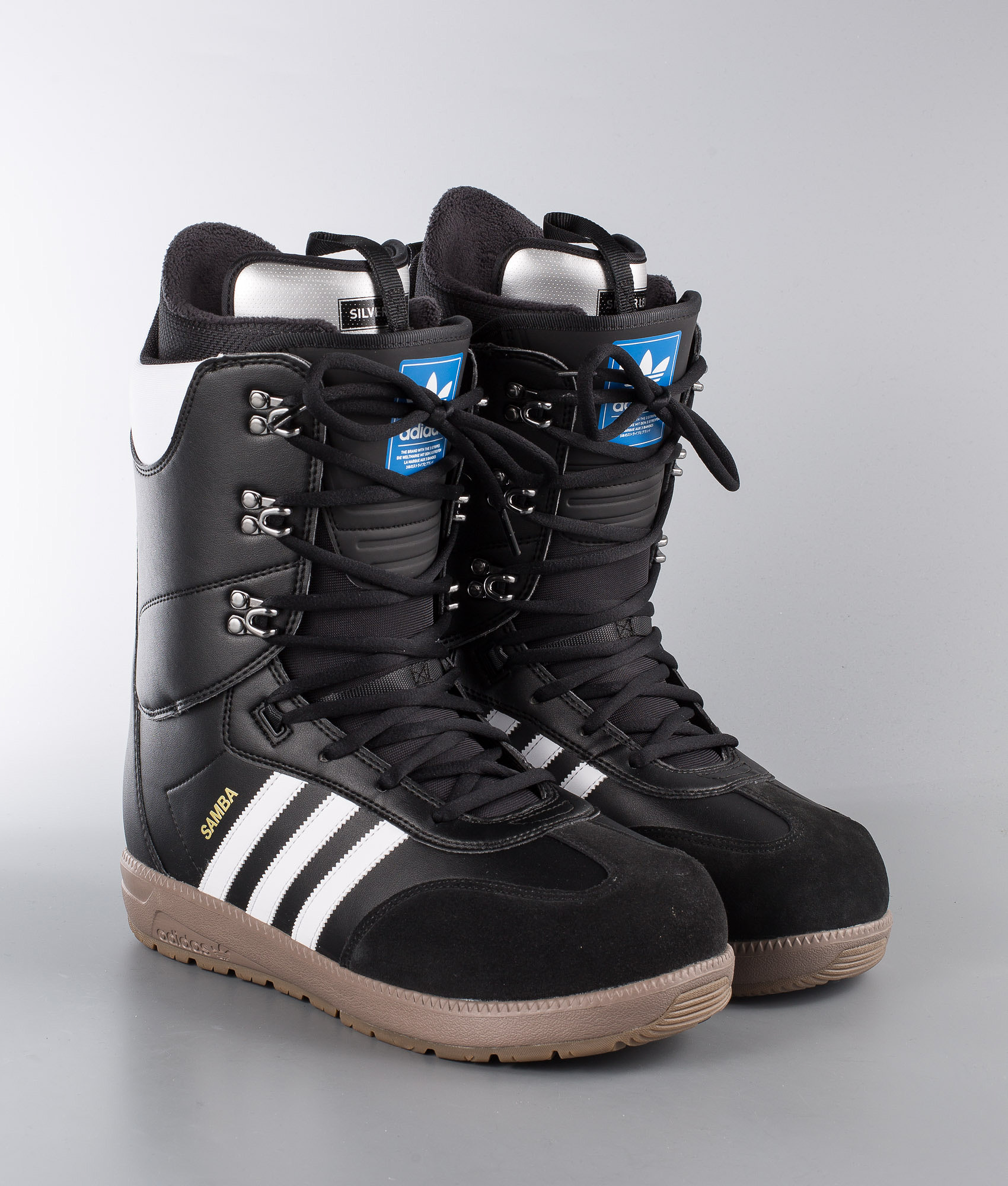 Adidas Snowboarding Samba Adv Snowboardboots Core Blackftwr White