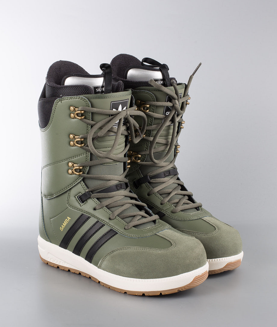 Adidas Snowboarding Samba Adv Snowboardboots Base Green/Core Black/Owhite