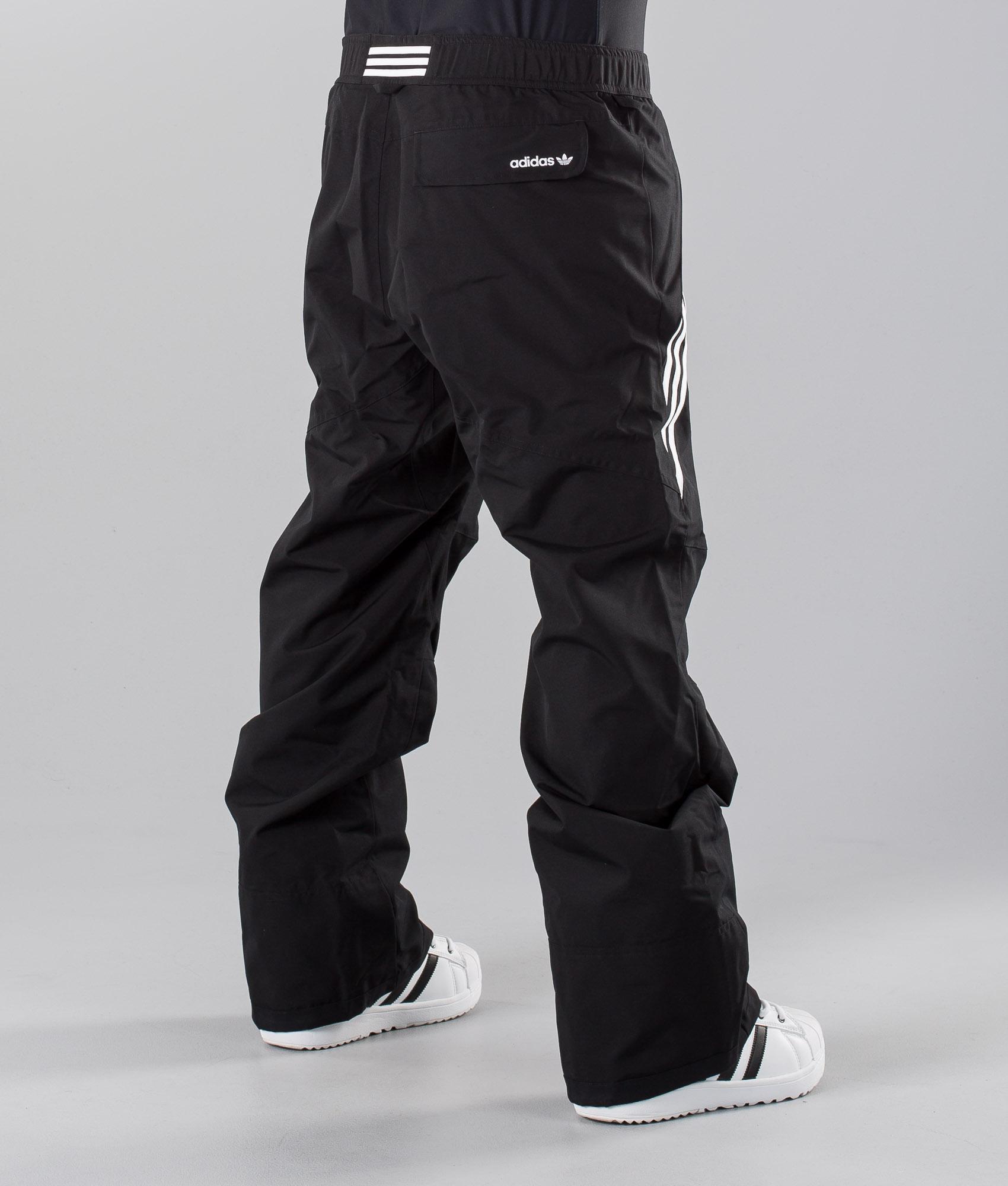 Adidas Snowboarding Riding Pant Snow Pants BlackWhite