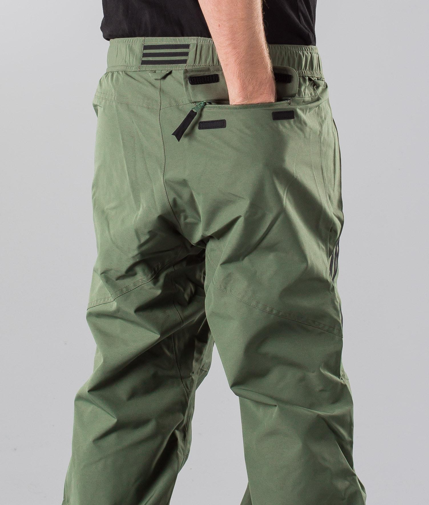 f35aa88416339 Adidas Snowboarding Riding Pant Snow Pants Base Green/Black ...