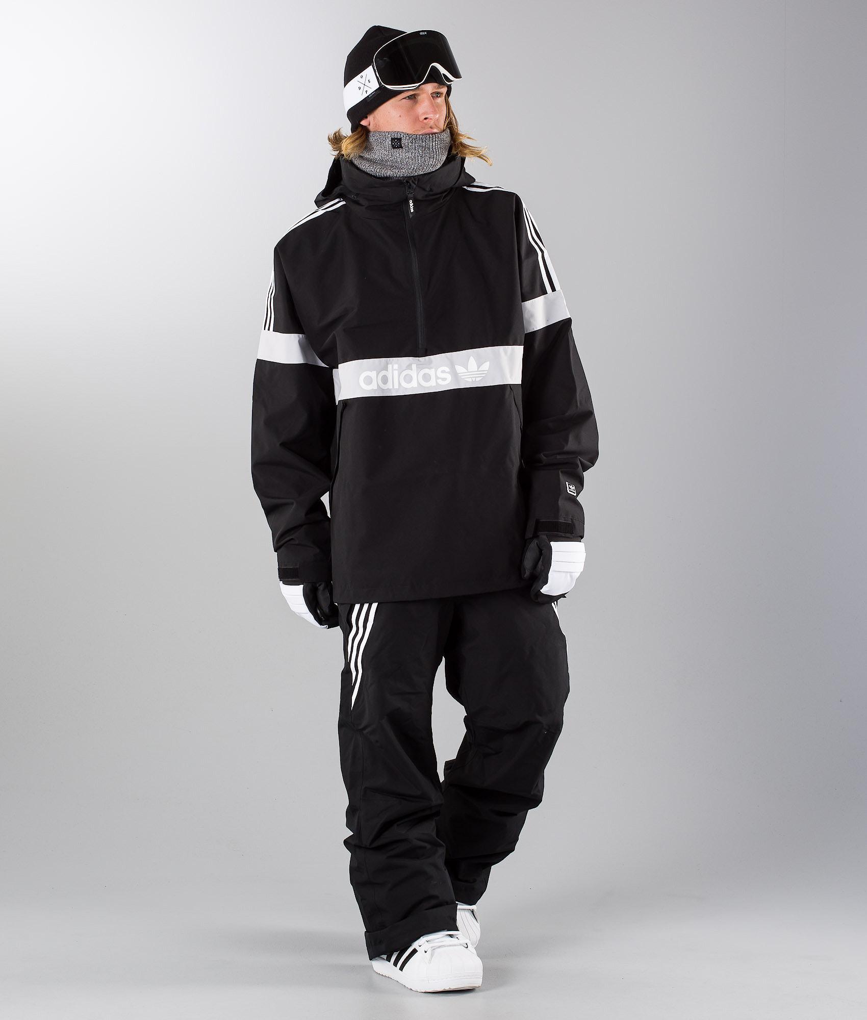 Adidas Snowboarding Blackbird Snowboardjacke Black Lgsogr White ... 7990b5e49b
