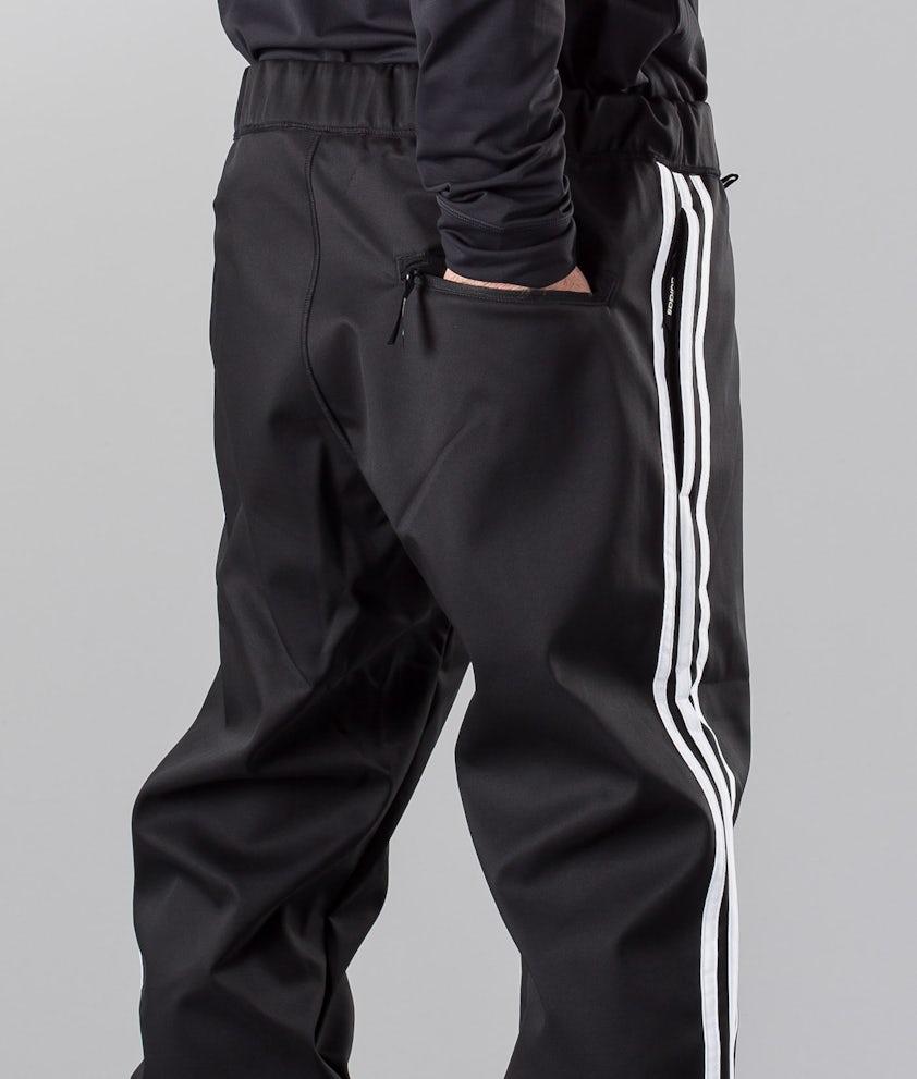 A merced de Mediana enfermo  Adidas Snowboarding Lazymanpant Pantalon de Snowboard Black/White -  Ridestore FR
