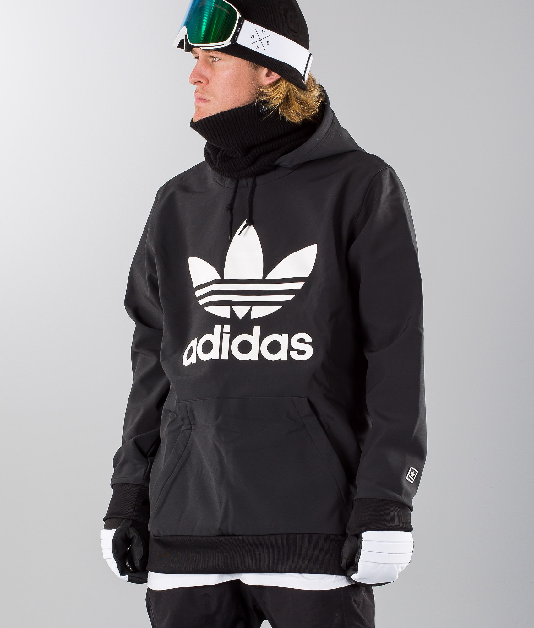 060066c8d4a7 Adidas Snowboarding Team Tech Snowboard Jacket Black White ...