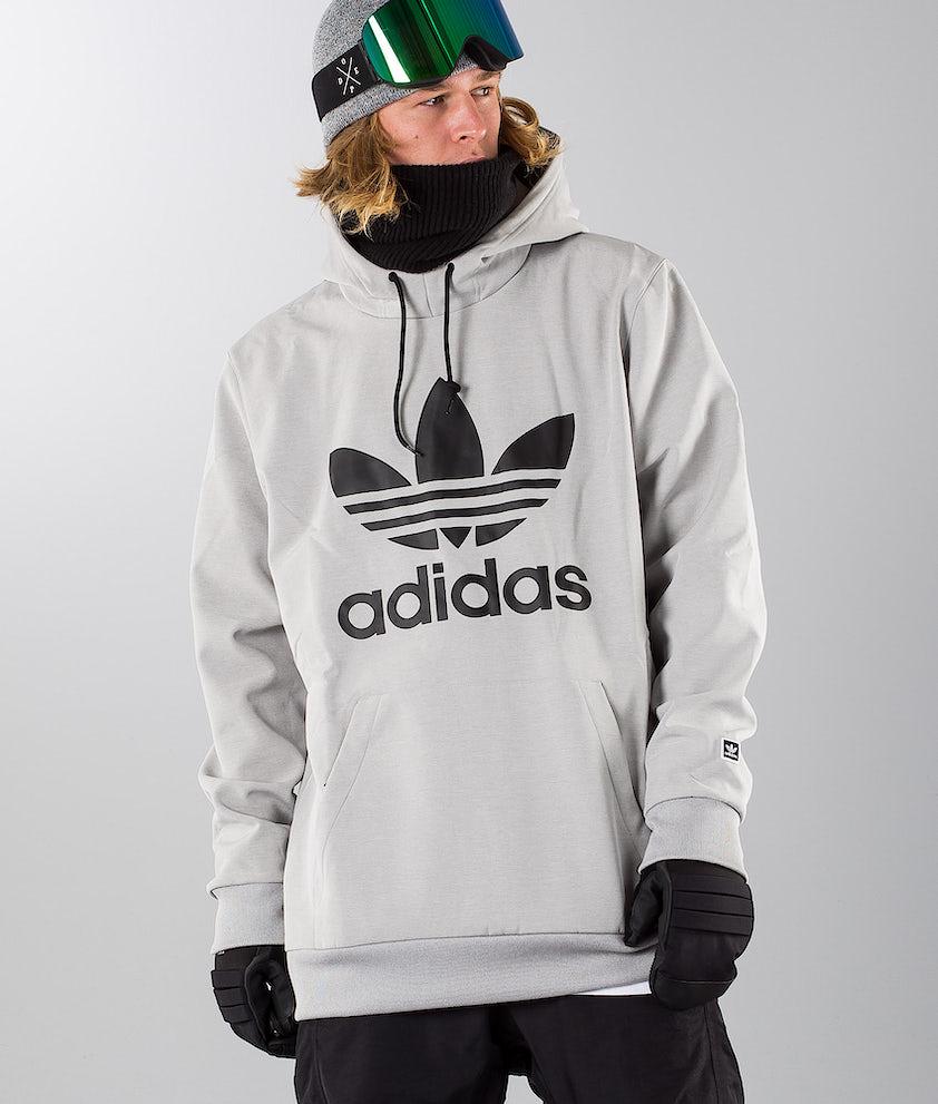 Adidas Snowboarding Team Tech Snowboard Jacket Medium Grey Heather/Black