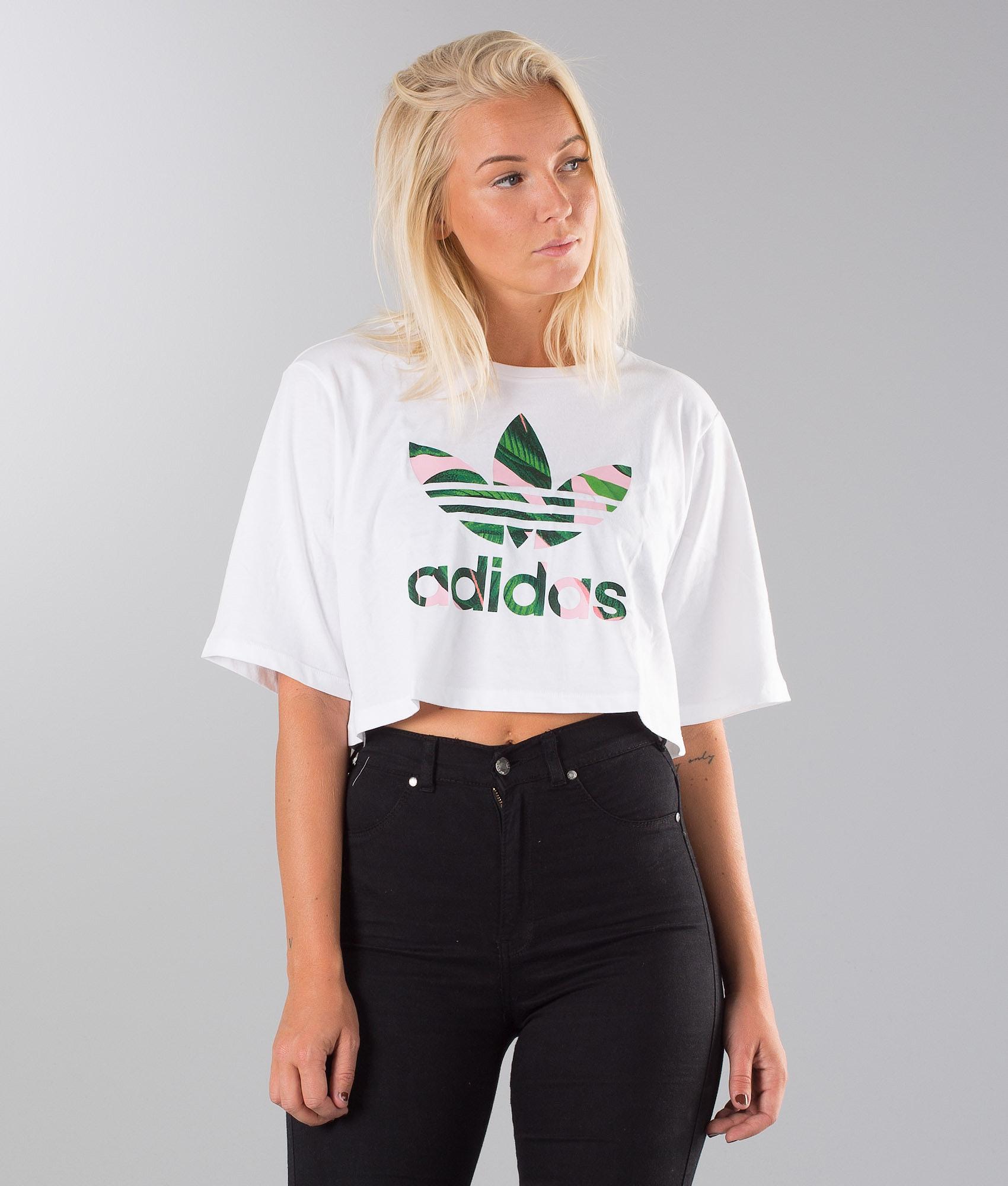8eb3f624 Adidas Originals Cropped T-shirt White - Ridestore.com