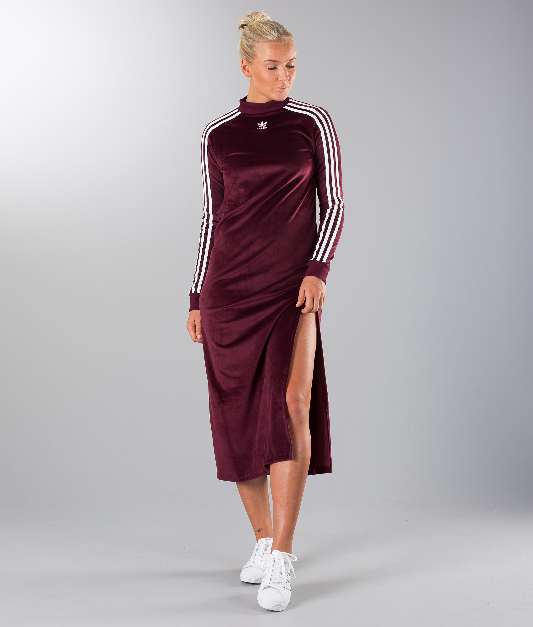 a7cf9c94 Adidas Originals Trefoil Dress Maroon - Ridestore.com