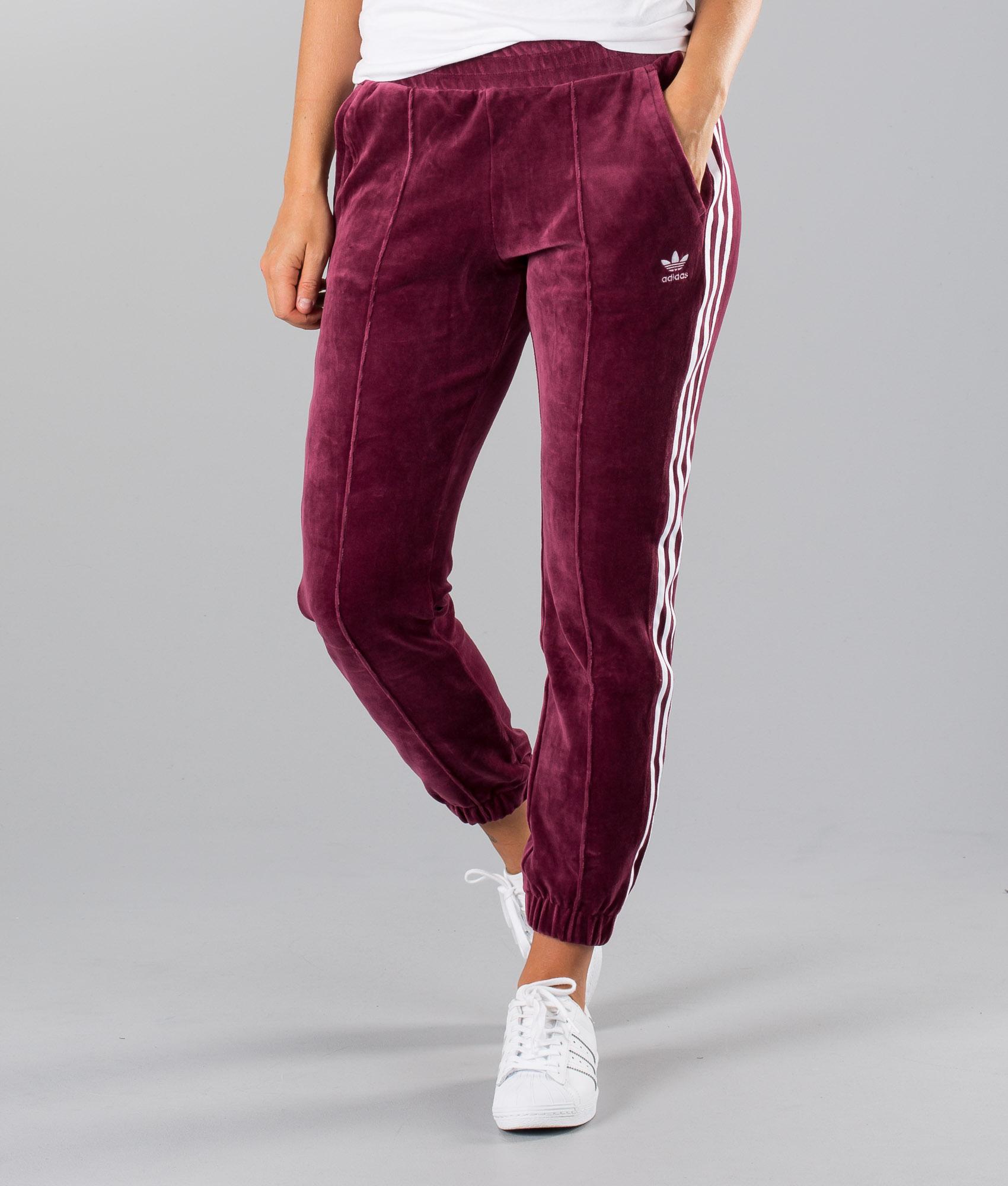 Adidas Originals Regular Trackpant Cuff Hosen Maroon