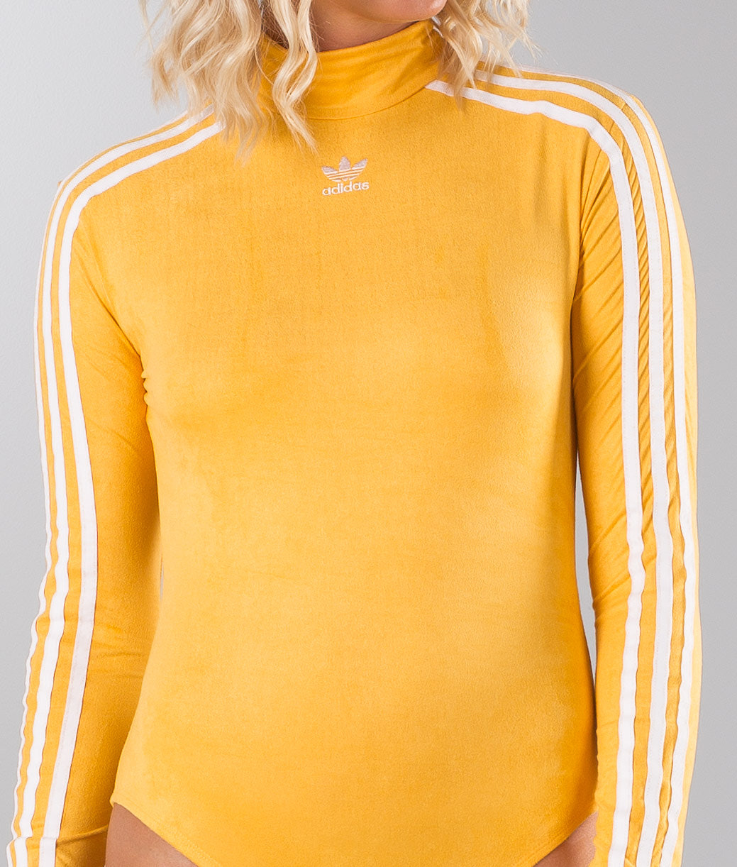 f9735f0e7eb4 Adidas Originals 3 Stripes Body Longsleeve Chalk Orange - Ridestore.com