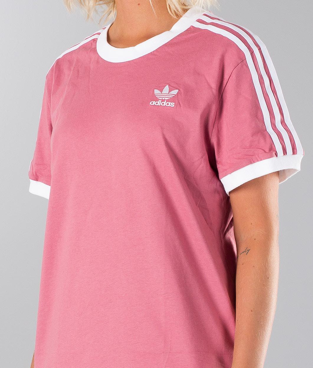 f69c53532d Adidas Originals 3 Stripes T-shirt Trace Maroon - Ridestore.com