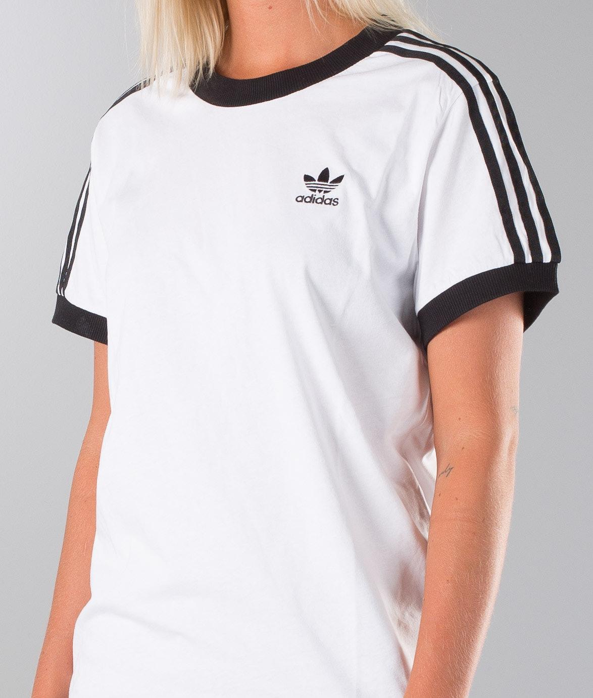 23c40bb1f07 Adidas Originals 3 Stripes T-shirt White - Ridestore.nl