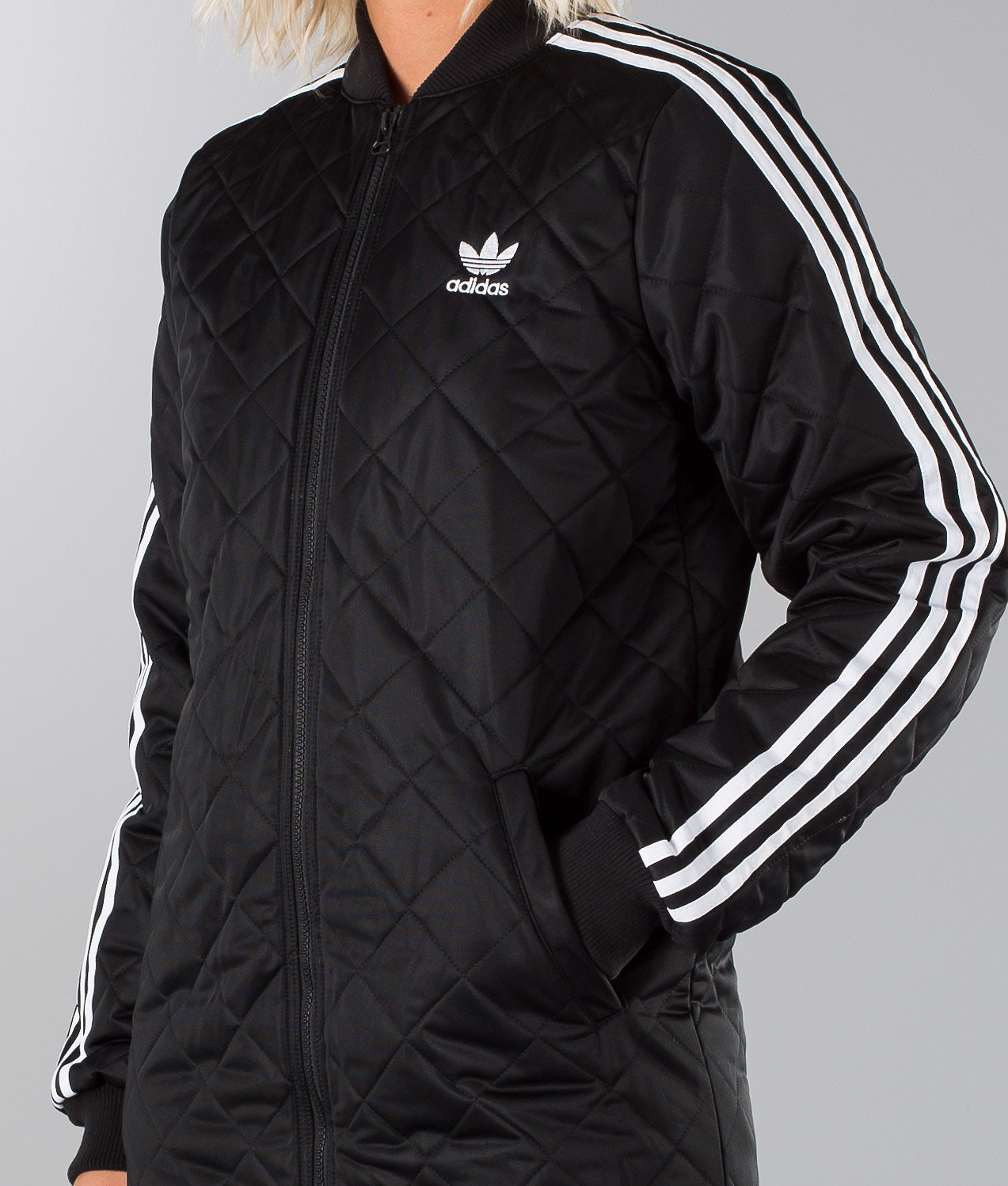 b634cedd052 Adidas Originals Long Bomber Veste