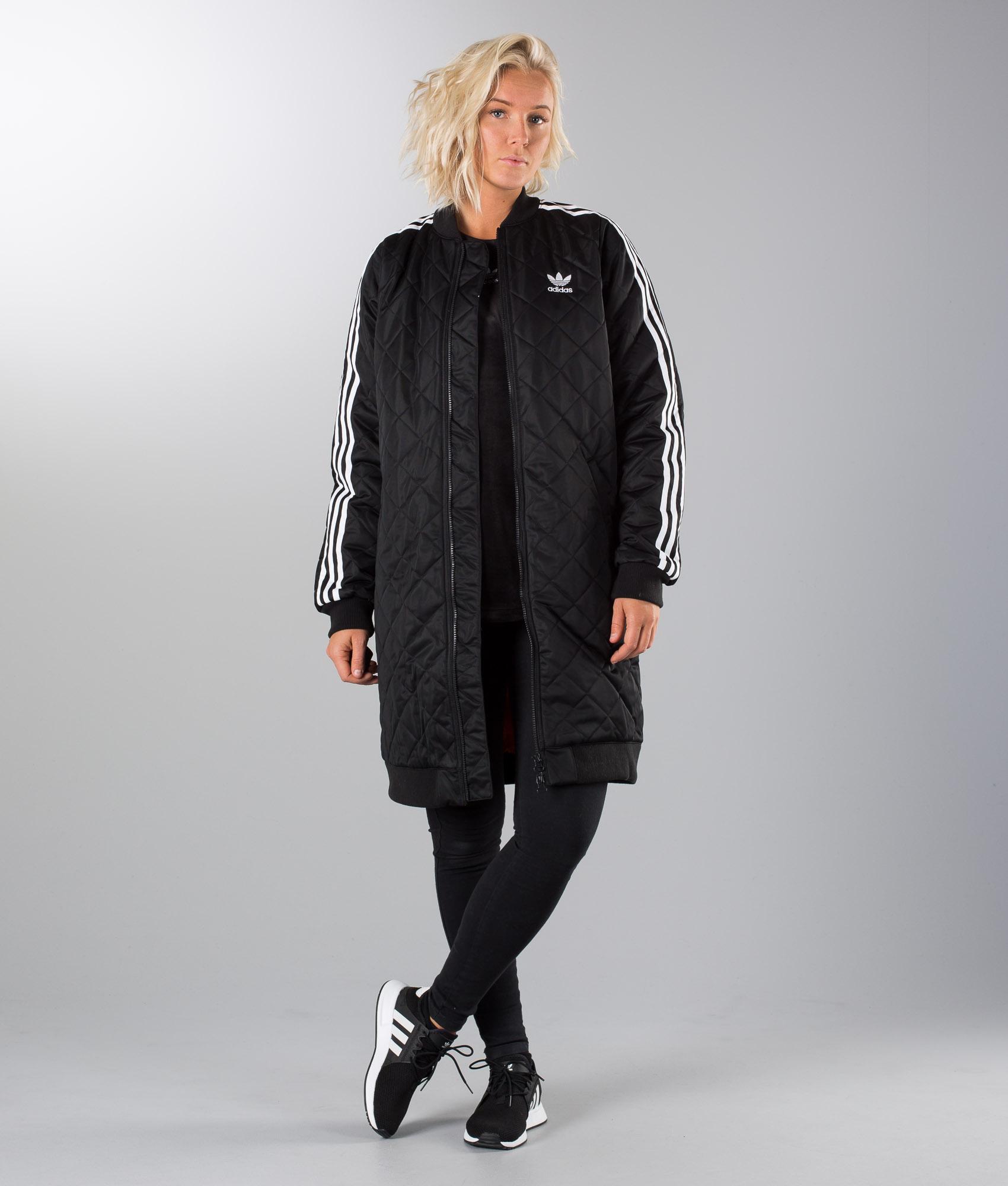 Adidas Originals Long Bomber Giacca Black