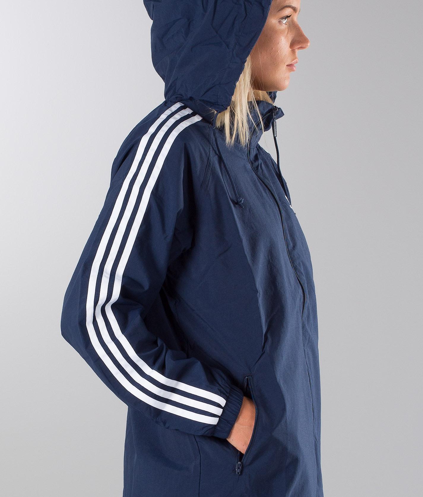 Adidas Originals Stadium Jkt Jacket Collegiate Navy - Ridestore.com b2f2c35432