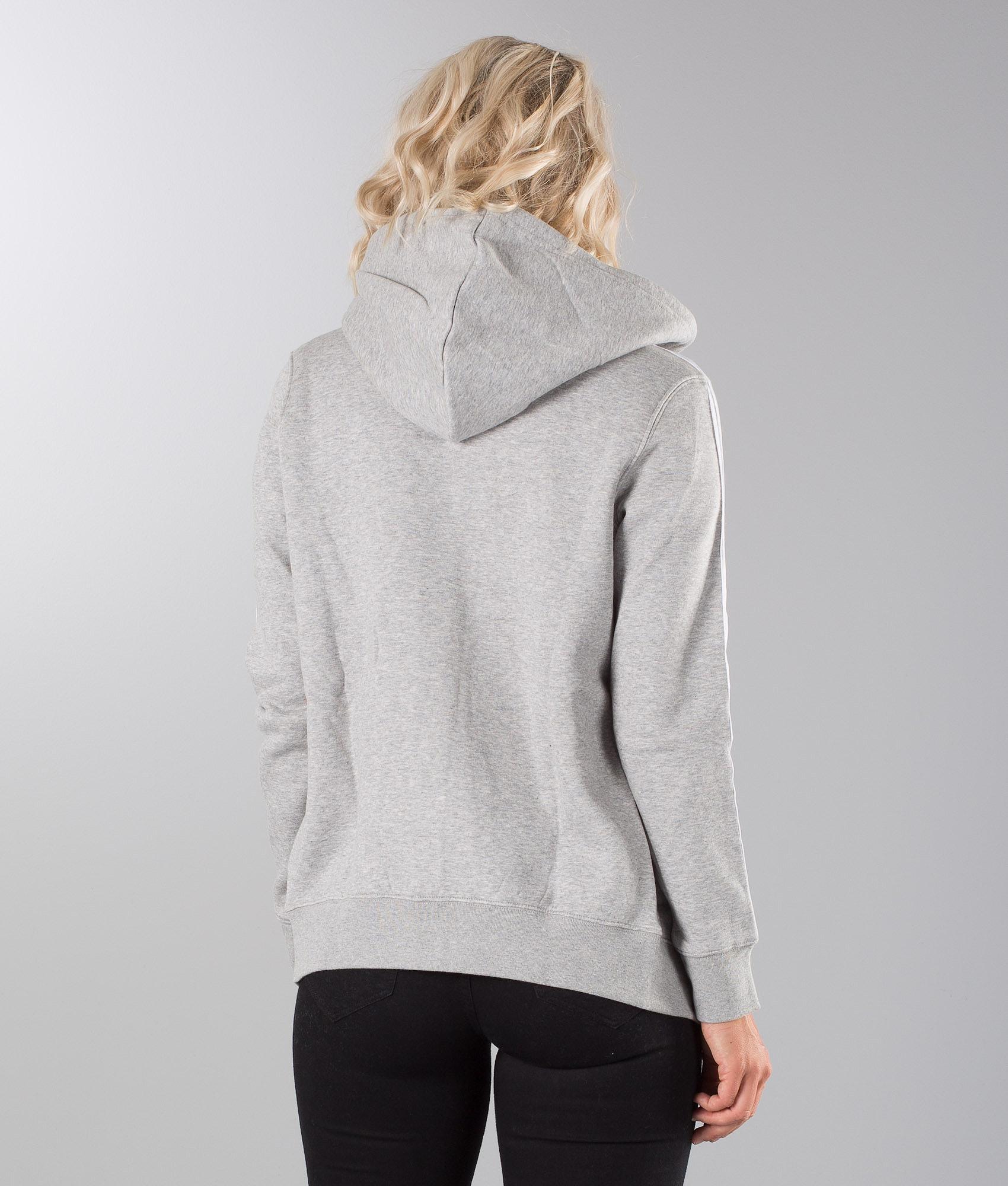 Adidas Originals 3Stripe Huppari Medium Grey Heather - Ridestore.fi 225e335af7