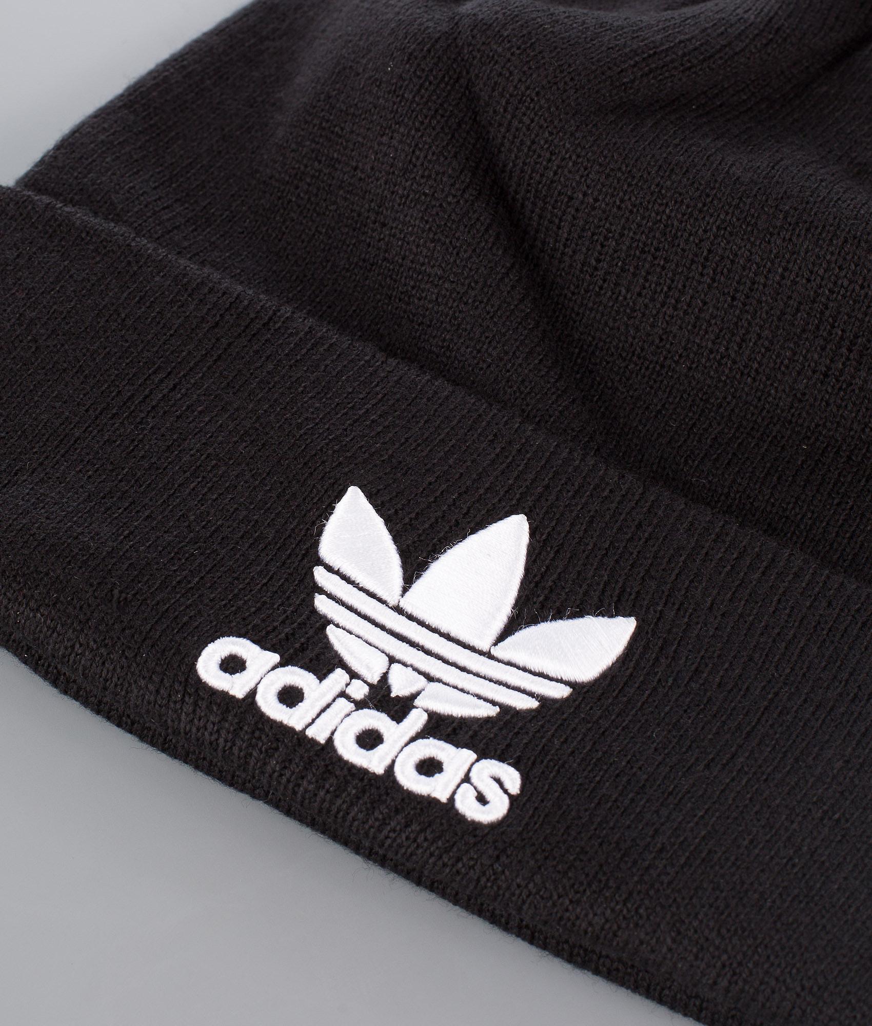 f55de375ae554 Adidas Originals Trefoil Beanie Black - Ridestore.com