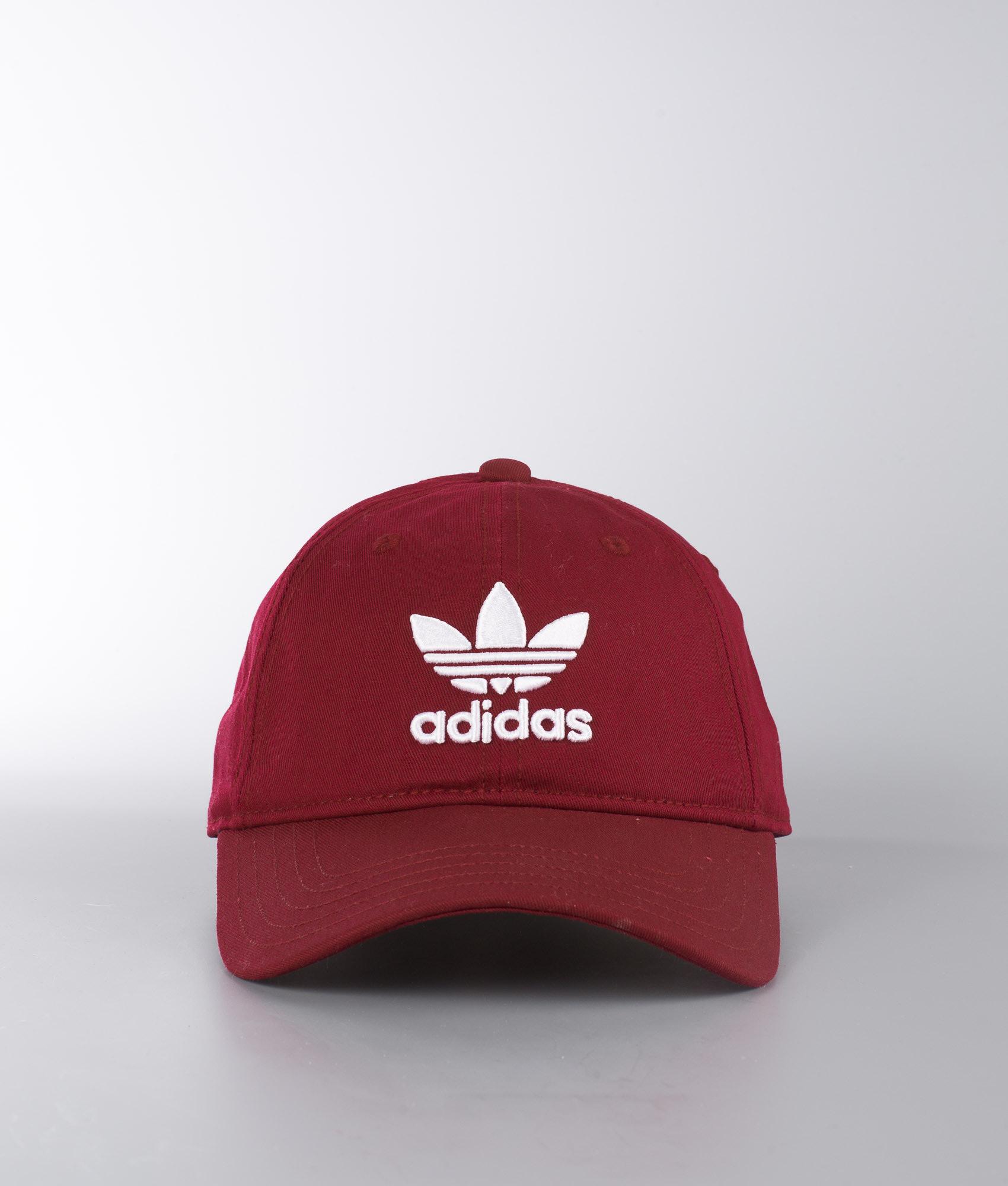 d0eef8c07d9 Adidas Originals Trefoil Cap Collegiate Burgundy - Ridestore.com