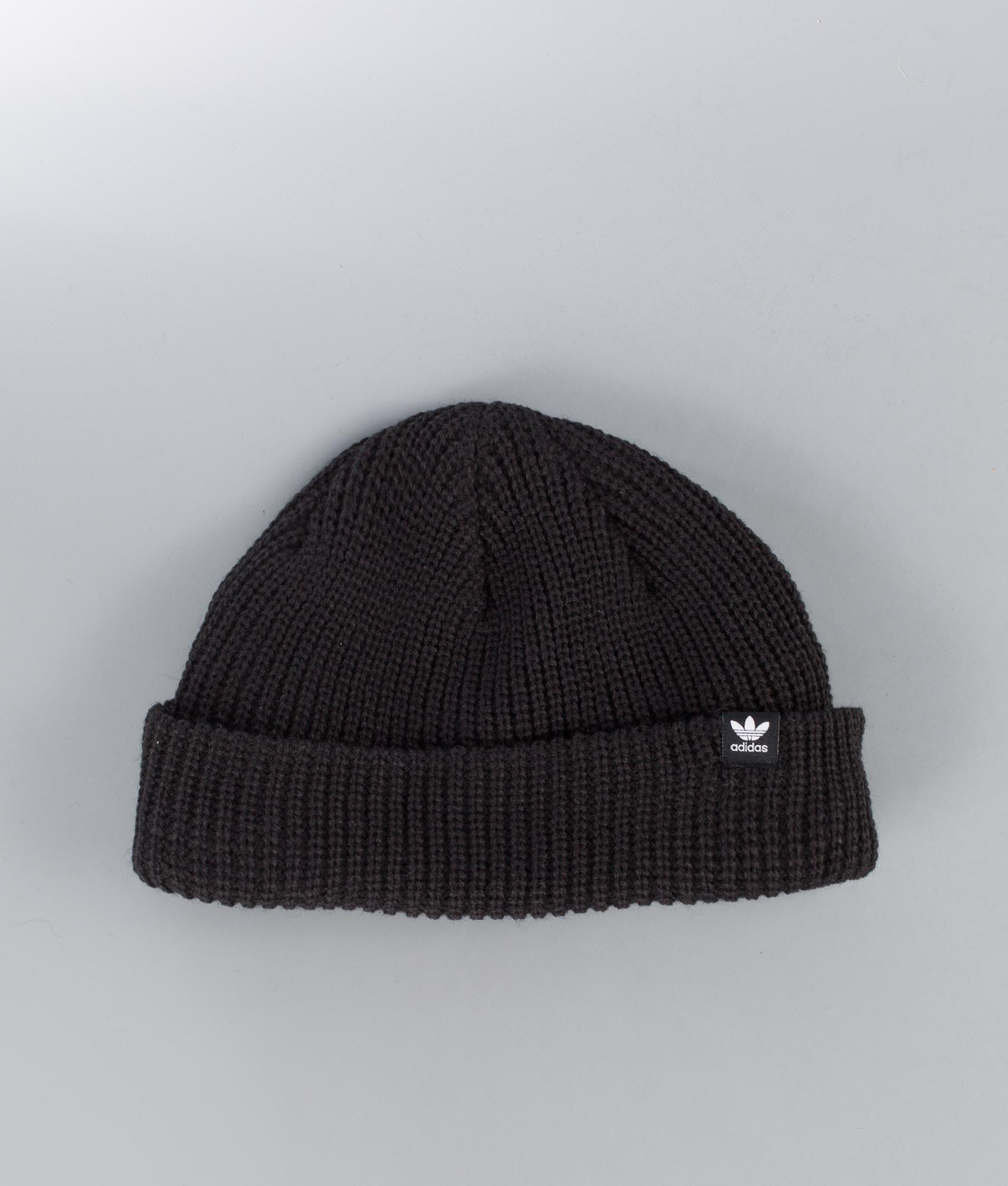238e2d3d0de Adidas Originals Short Beanie Black - Ridestore.com