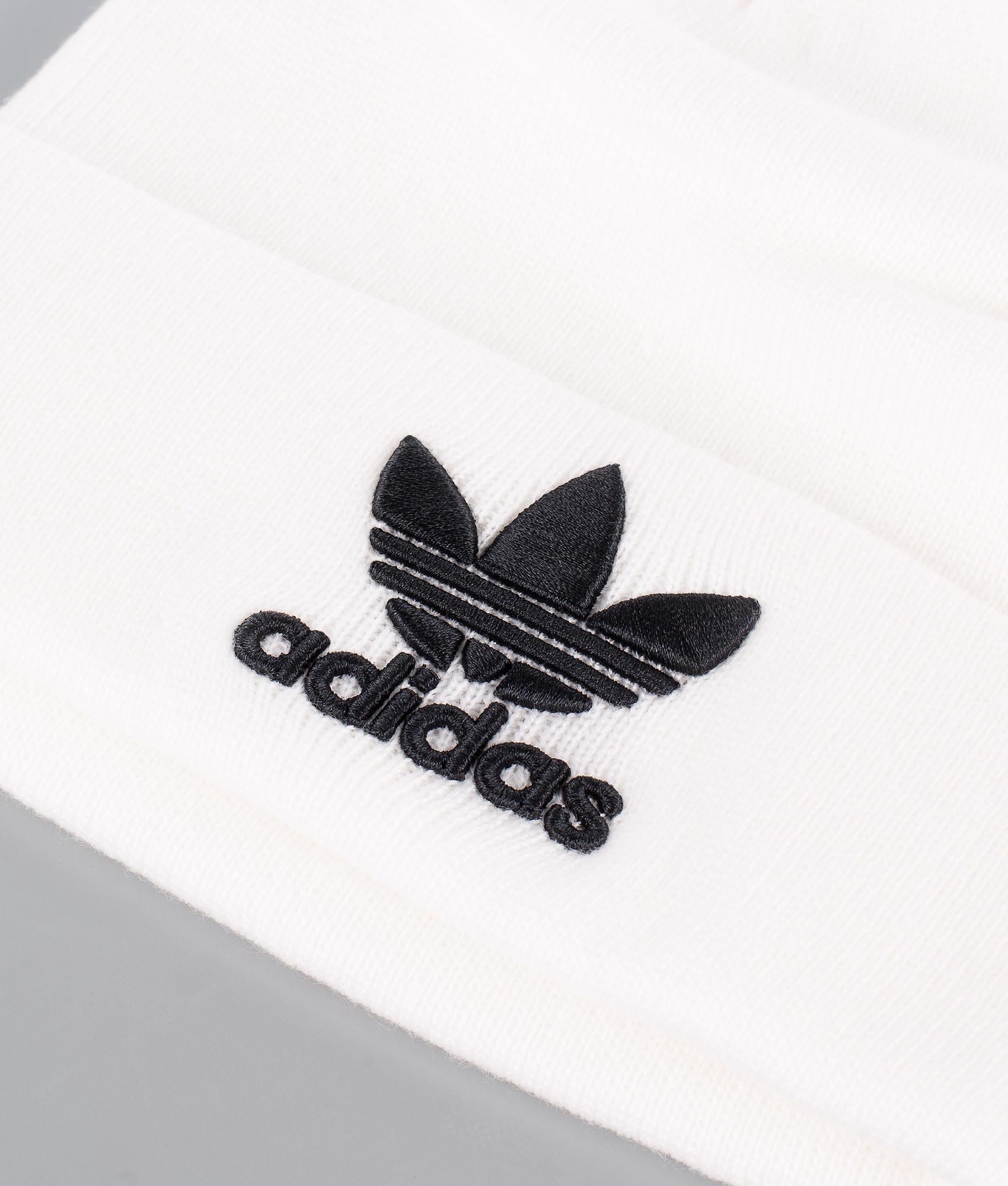 Adidas Originals Trefoil Beanie White - Ridestore.com bcb855bddab