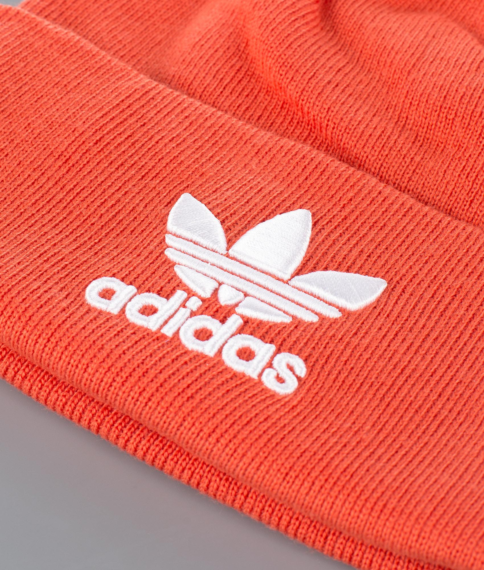 462661b6e Adidas Originals Trefoil Beanie Raw Amber