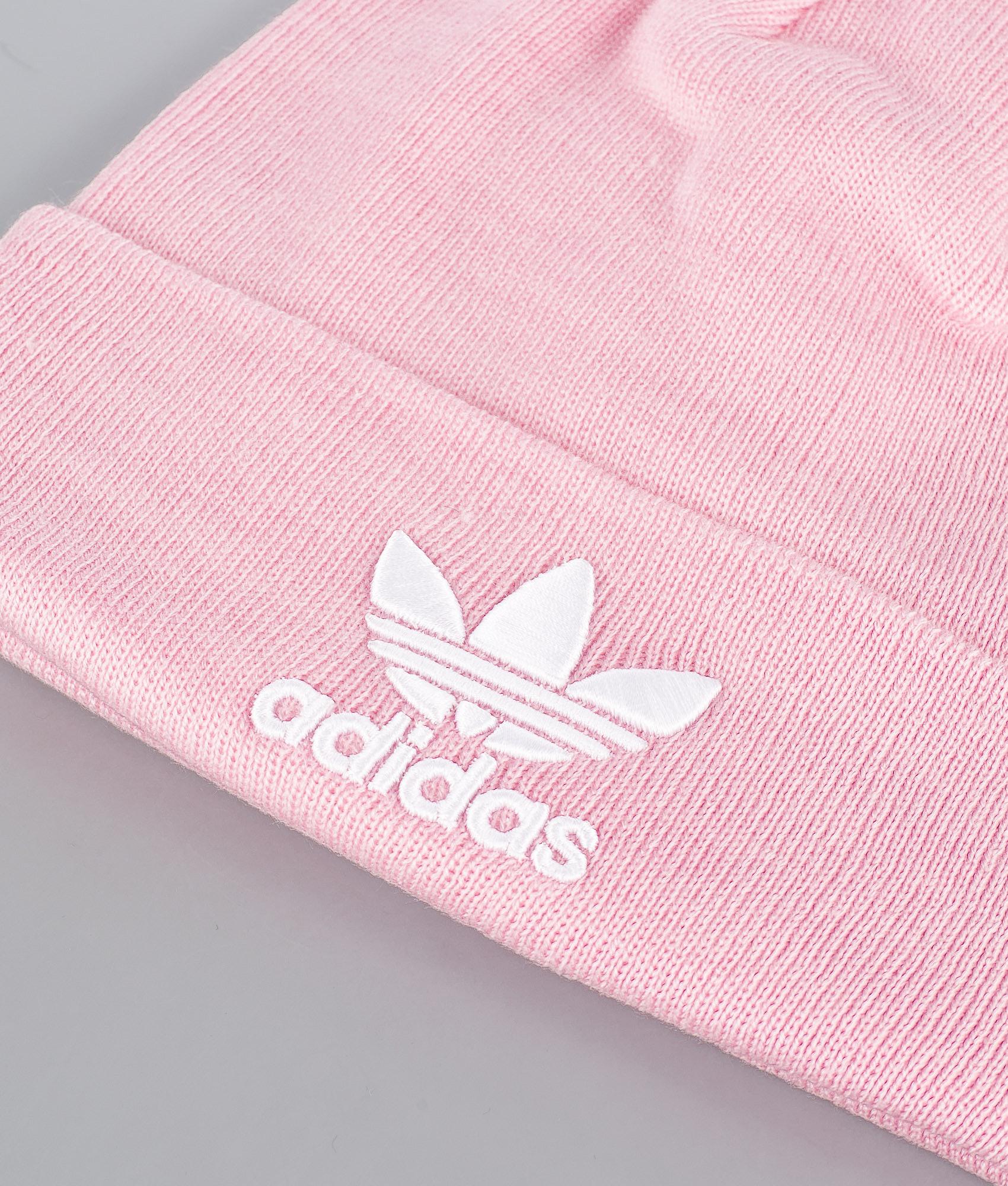 Adidas Originals Trefoil Beanie Clear Pink - Ridestore.com 58fde42b56