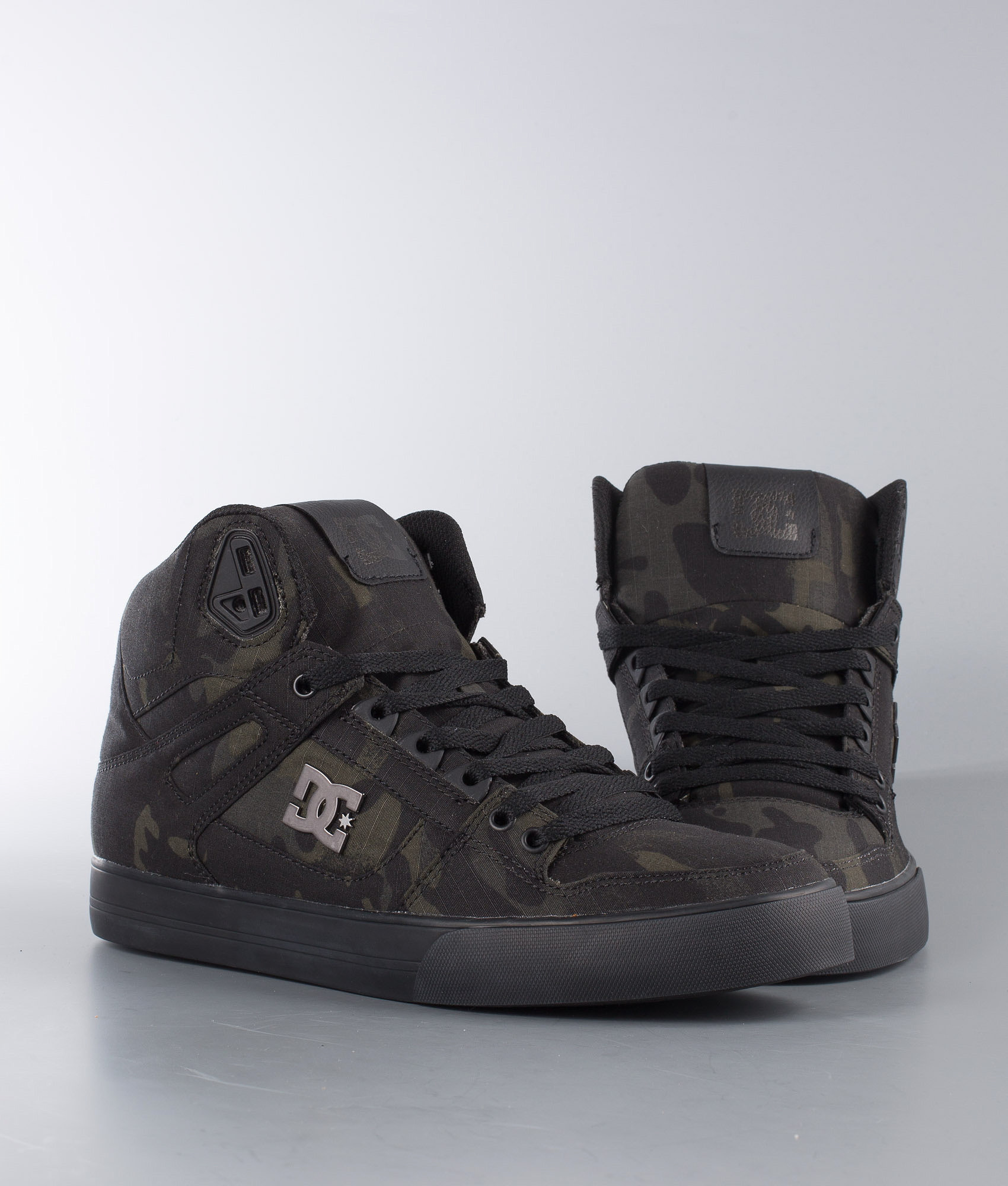 0837f5e8f30 DC Pure High-Top Wc Tx Se Shoes Camo - Ridestore.com