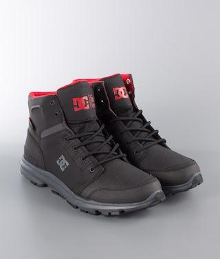 timeless design 330f2 064f6 DC Torstein Schuhe Black/Grey/Red