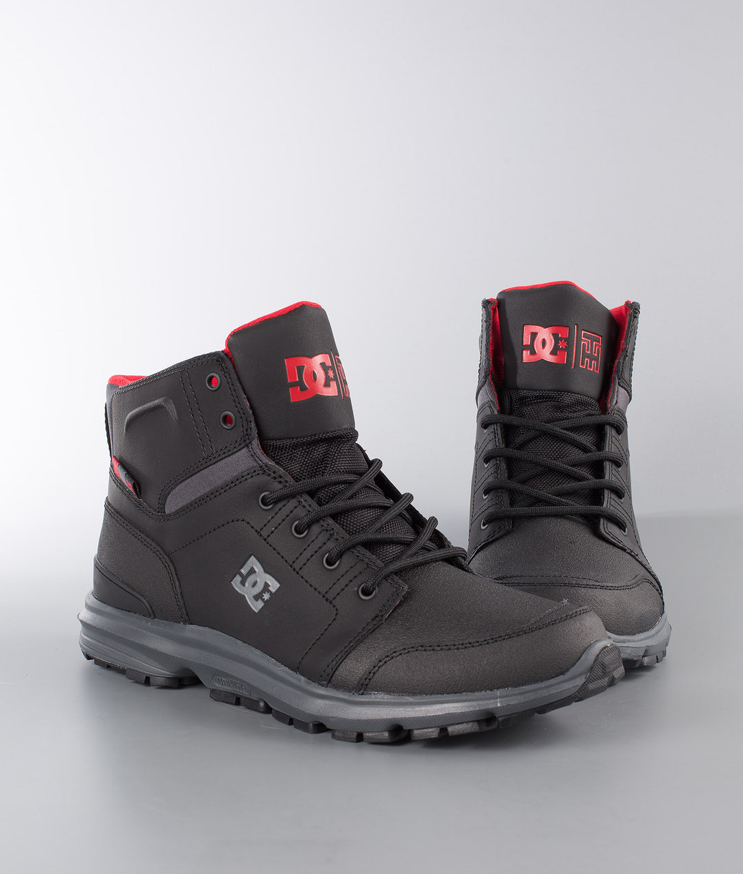 huge selection of b0211 e8b54 DC Torstein Shoes Black/Grey/Red