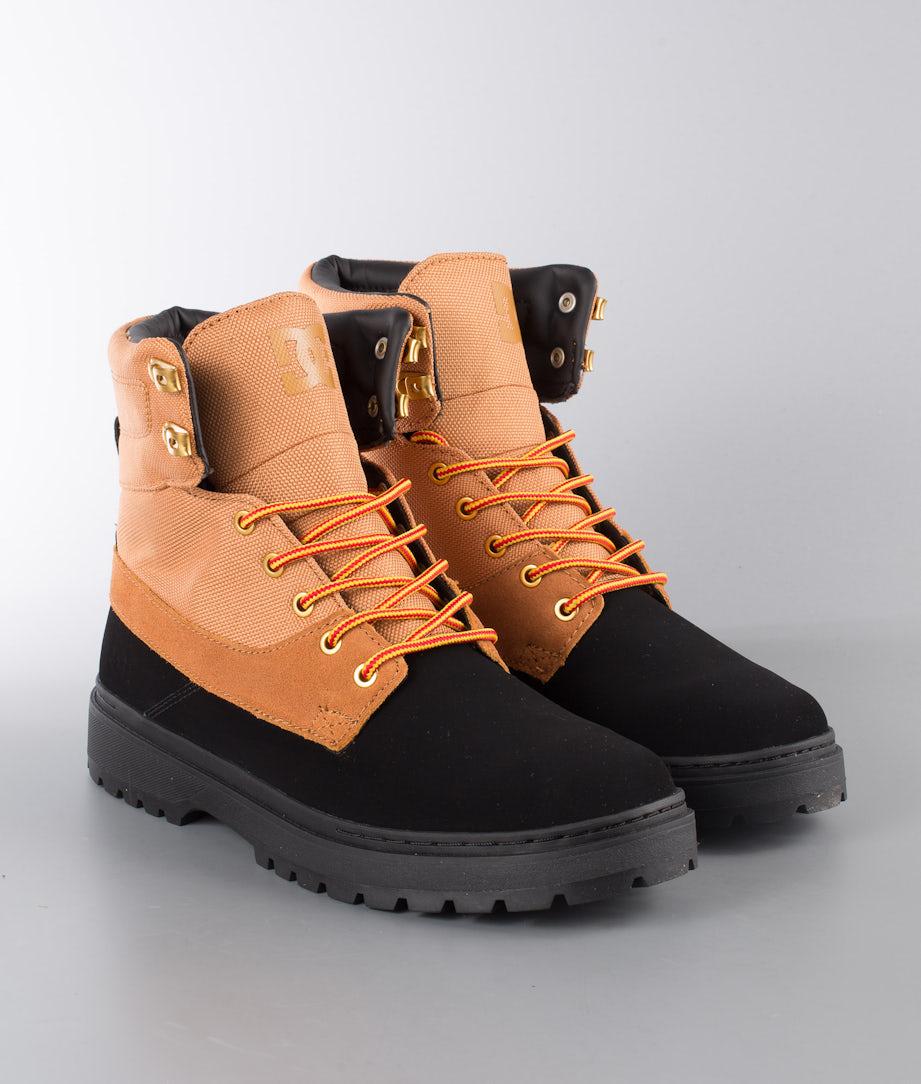 DC Uncas Tr Chaussures Black/Wheat