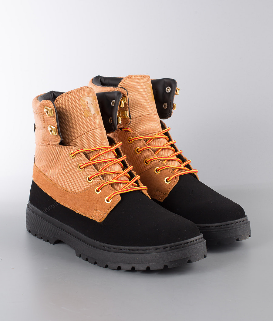 DC Uncas Tr Chaussures Black/Wheat