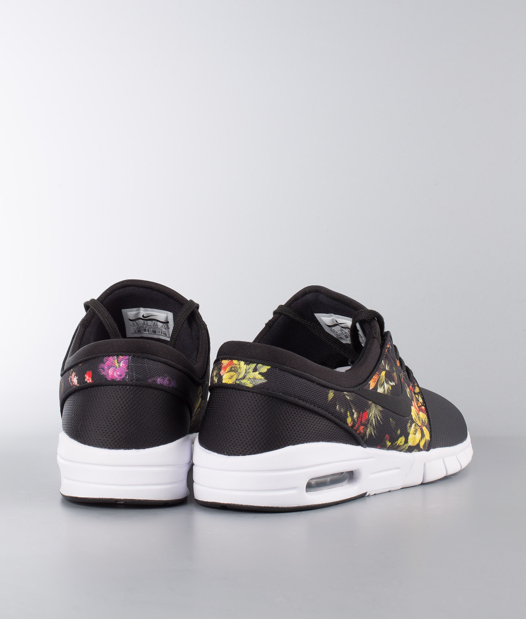 338bd82183211 Nike Stefan Janoski Max Shoes Black Black-Multi-Color - Ridestore.com