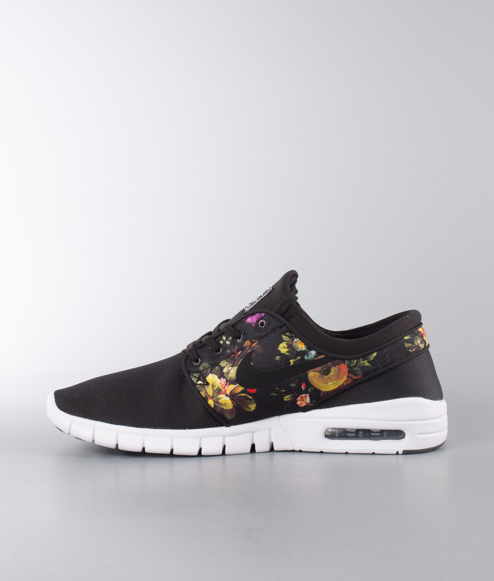 e330d5b78ac Nike Stefan Janoski Max Shoes Black Black-Multi-Color - Ridestore.com