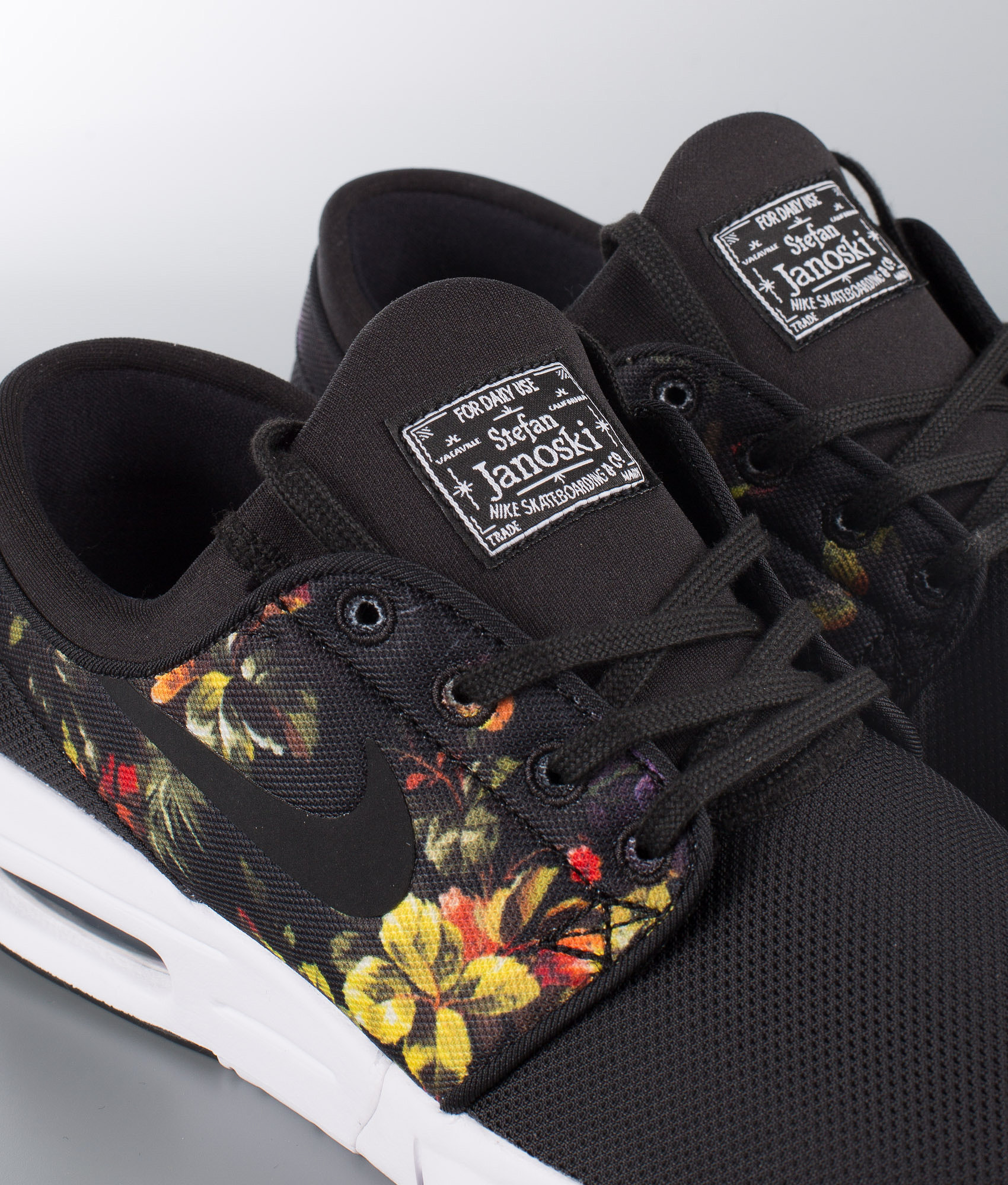 Nike Stefan Janoski Max Shoes Black Black-Multi-Color - Ridestore.com 909b52b59175